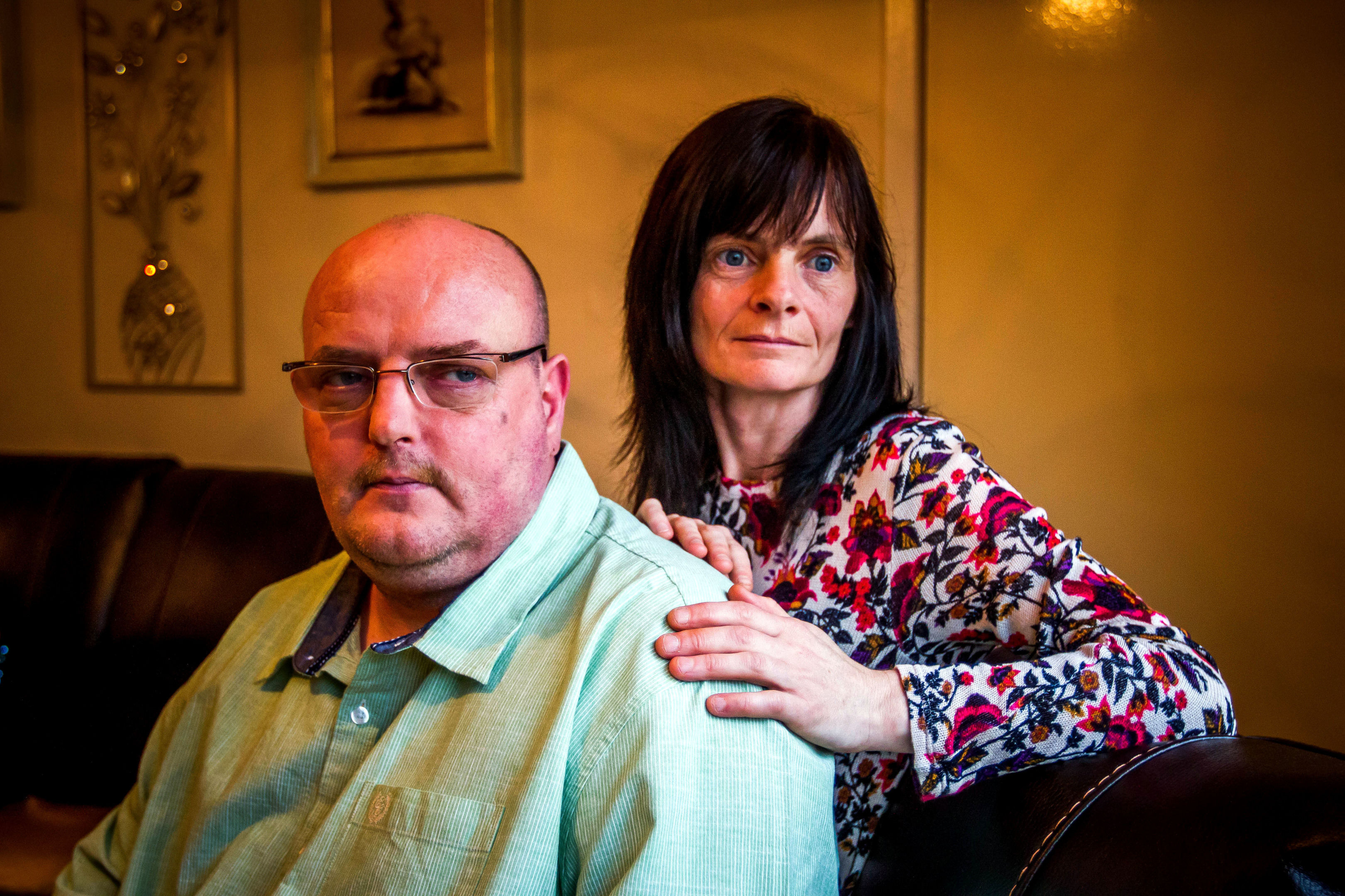 Allan Bryant's parents Allan Bryant Snr and Marie Degan have suffered pain at the hands of a serial troller