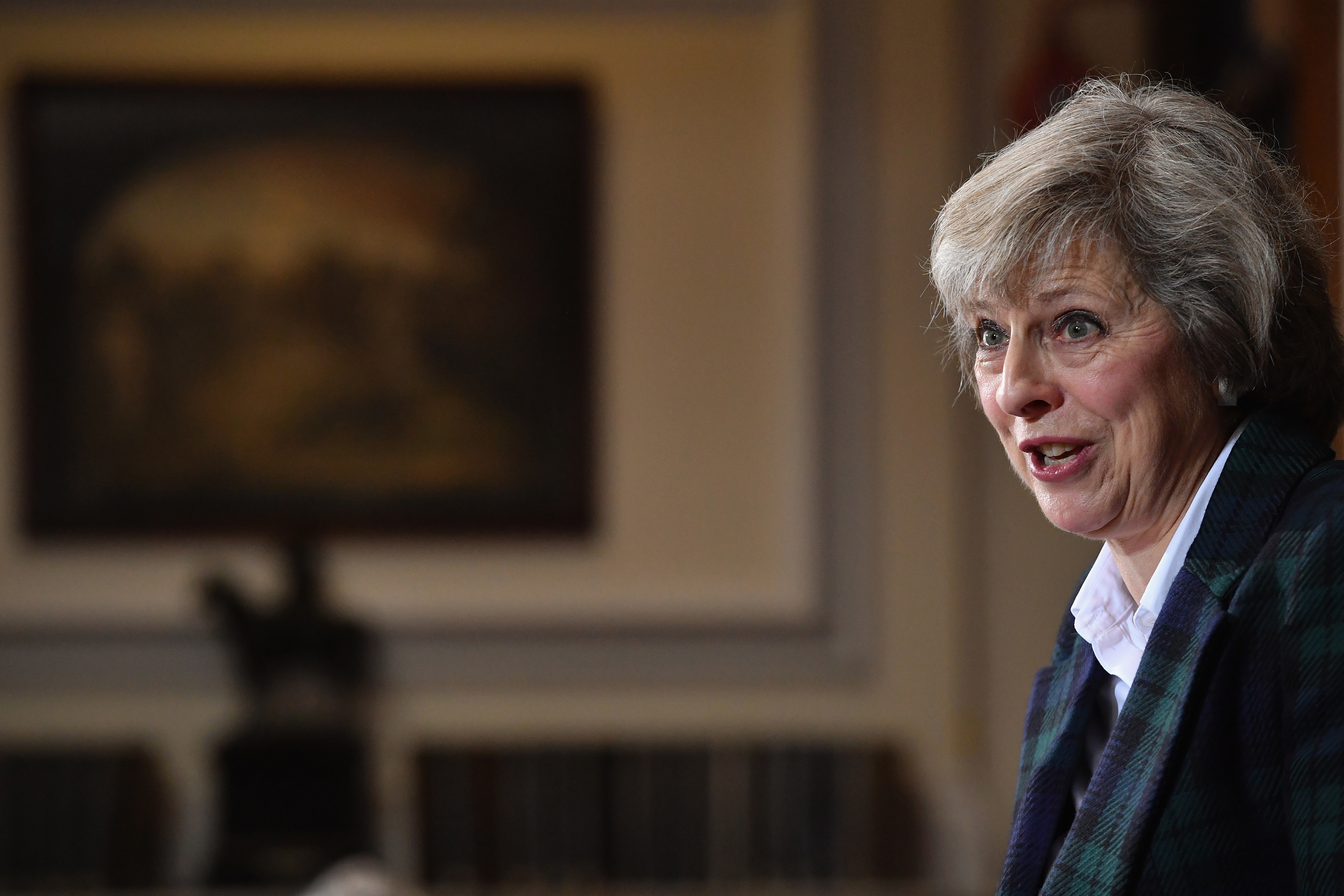 Home Secretary Theresa May, launches her bid for the Conservative Party leadership.