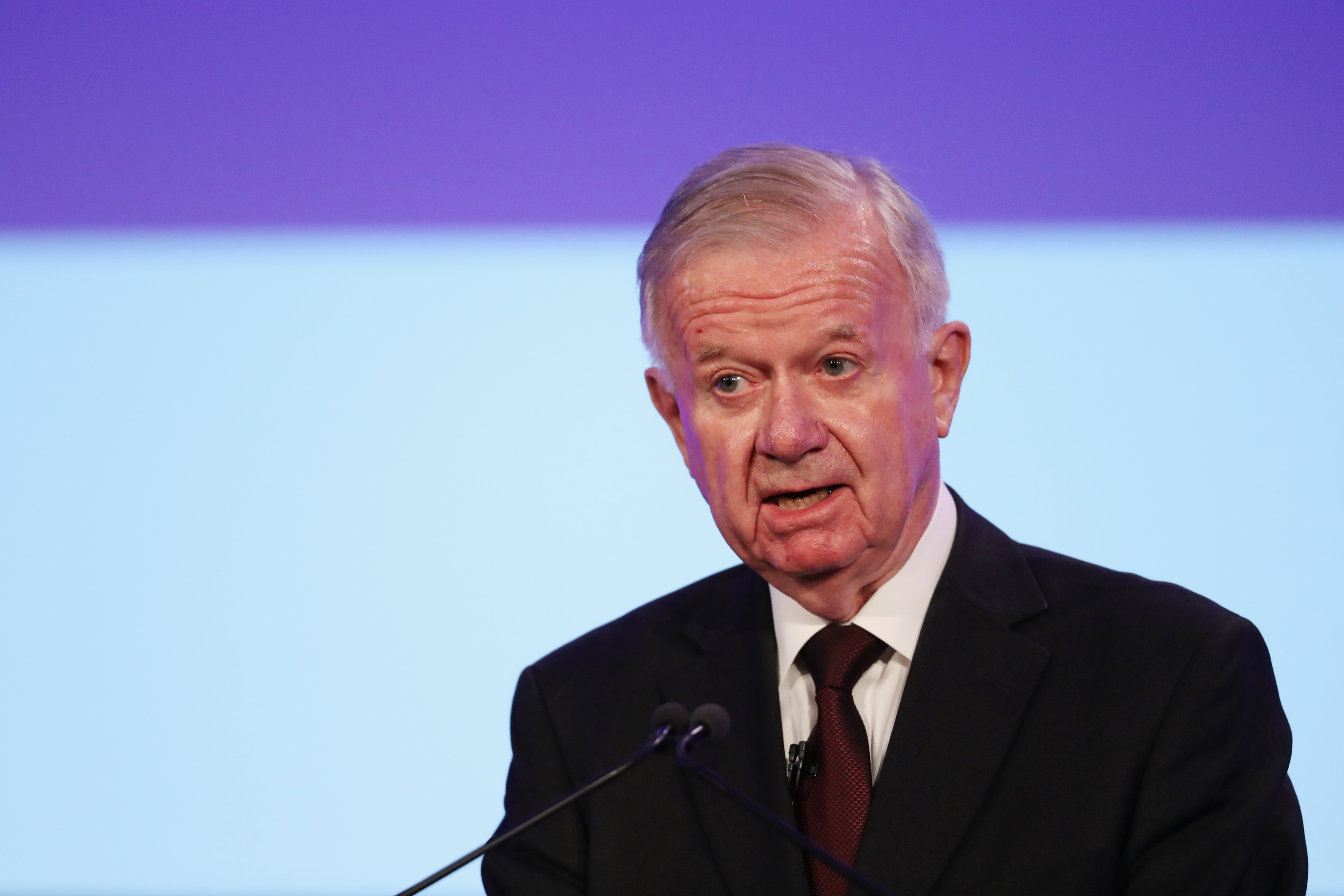 Sir John Chilcot presents The Iraq Inquiry Report.