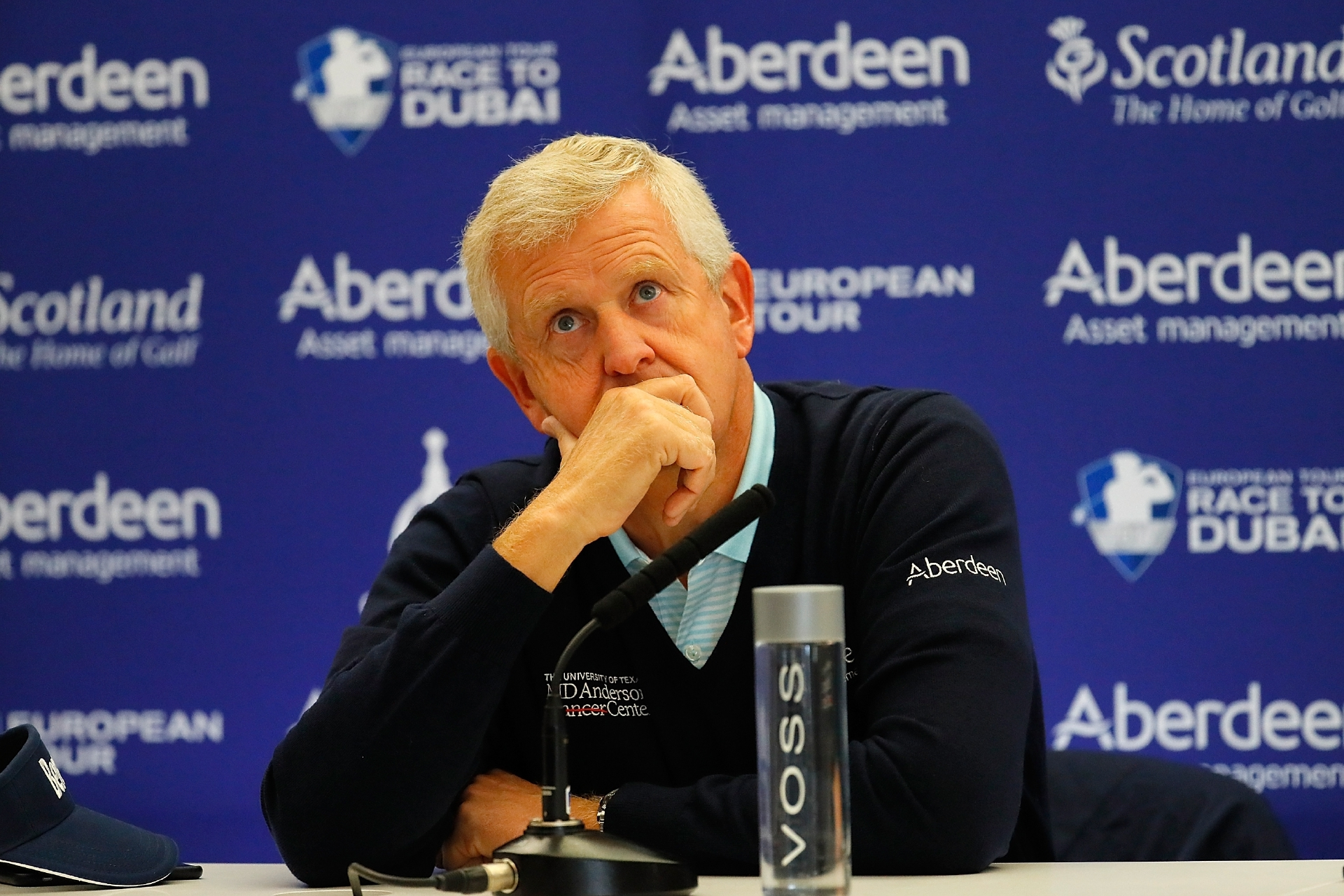 "Colin Montgomerie thinks the Olympic withdrawls are ""disappointing""."