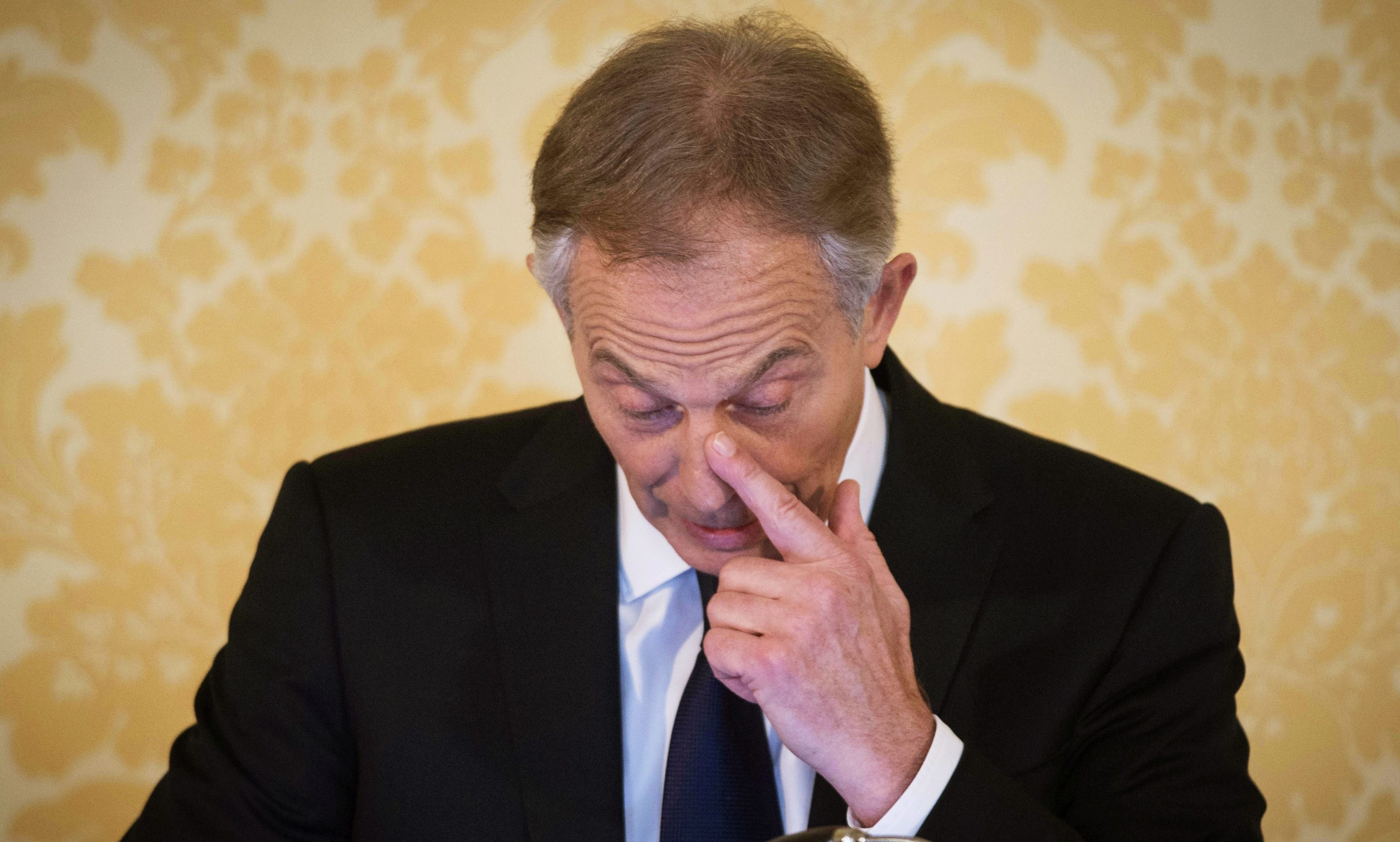 Tony Blair gives his response to the Chilcot Report.