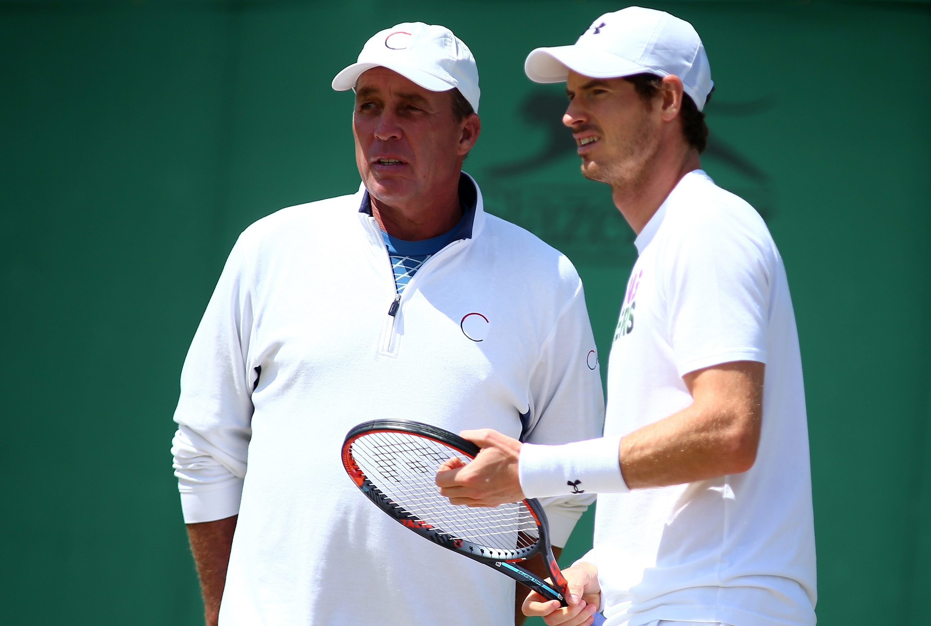 Andy Murray gets the benefit of Ivan Lendl's wisdom.
