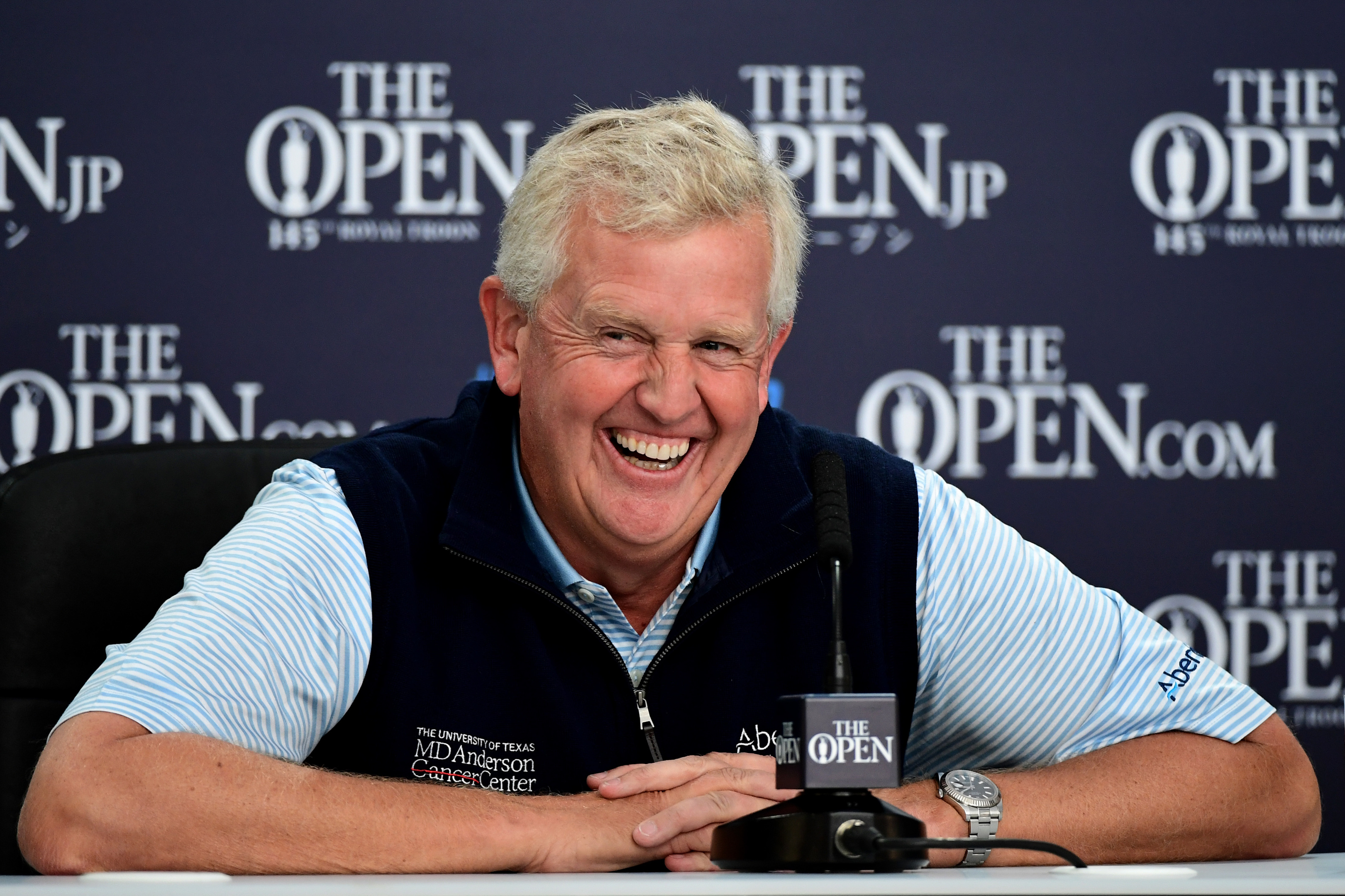 Colin Montgomerie grew up just five doors down from the Royal Troon clubhouse. Images)