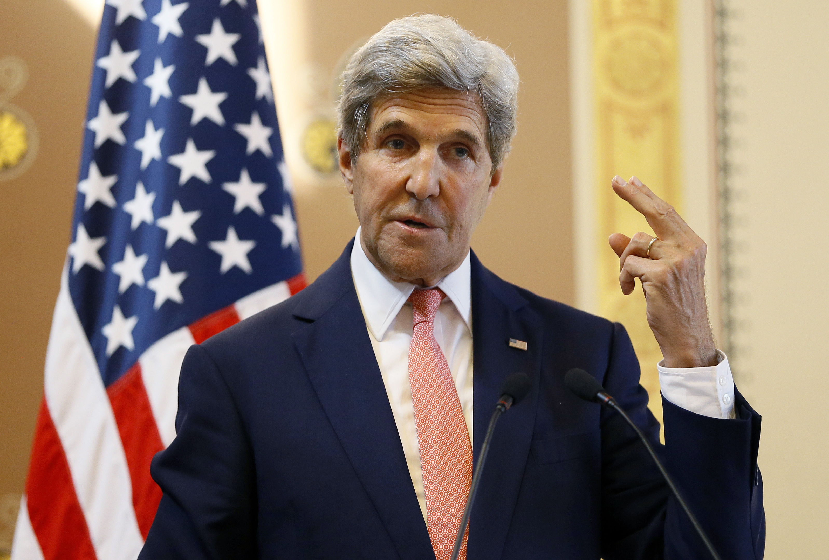 US Secretary of State John Kerry on his visit to the UK.