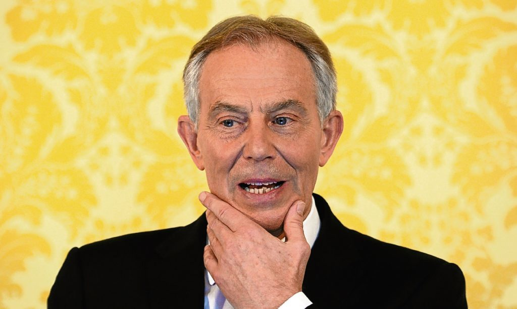 Former Prime Minister Tony Blair reacts to the Chilcot Report.