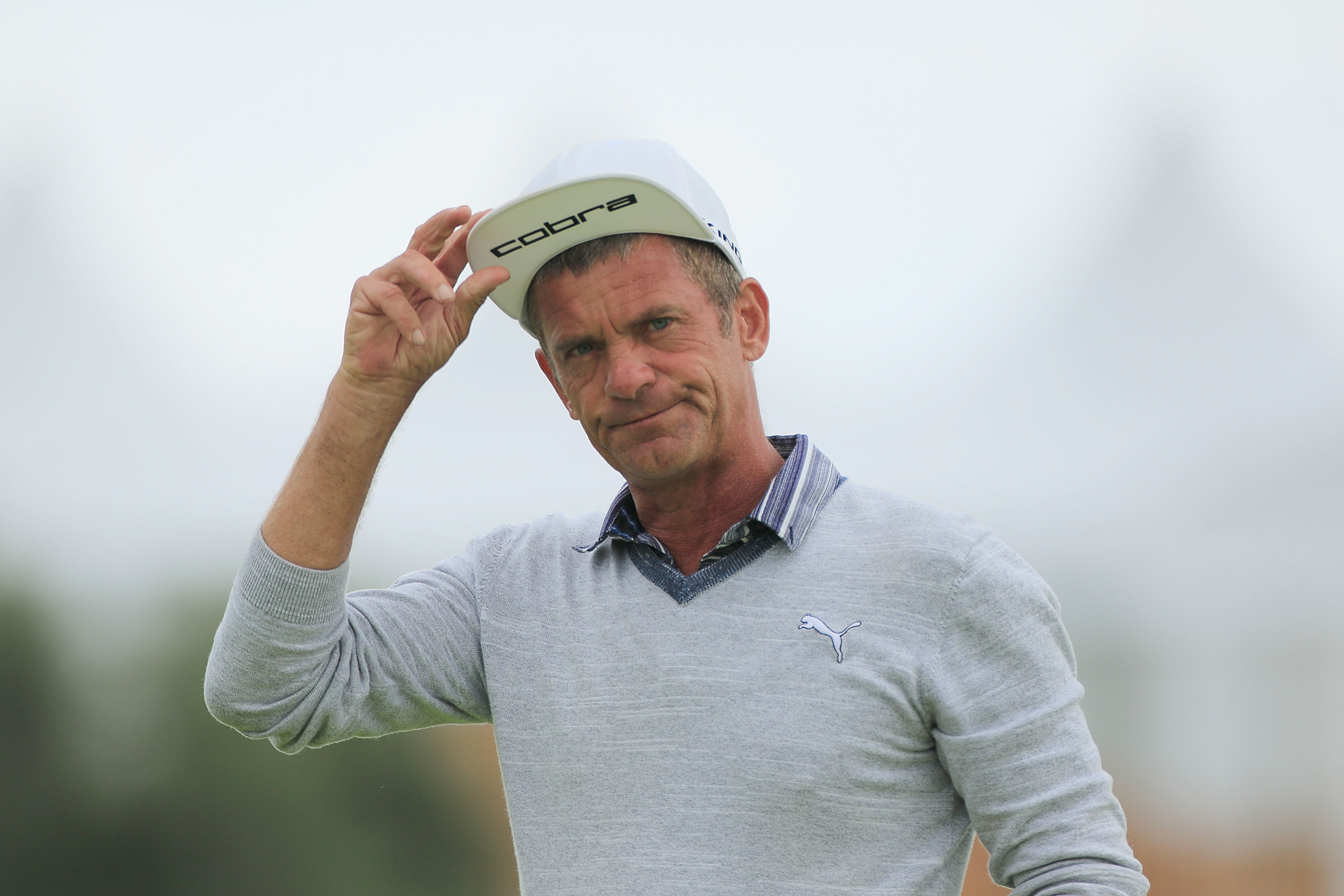 Jesper Parnevik: still the same in appearance and attitude as he was 20 years ago.