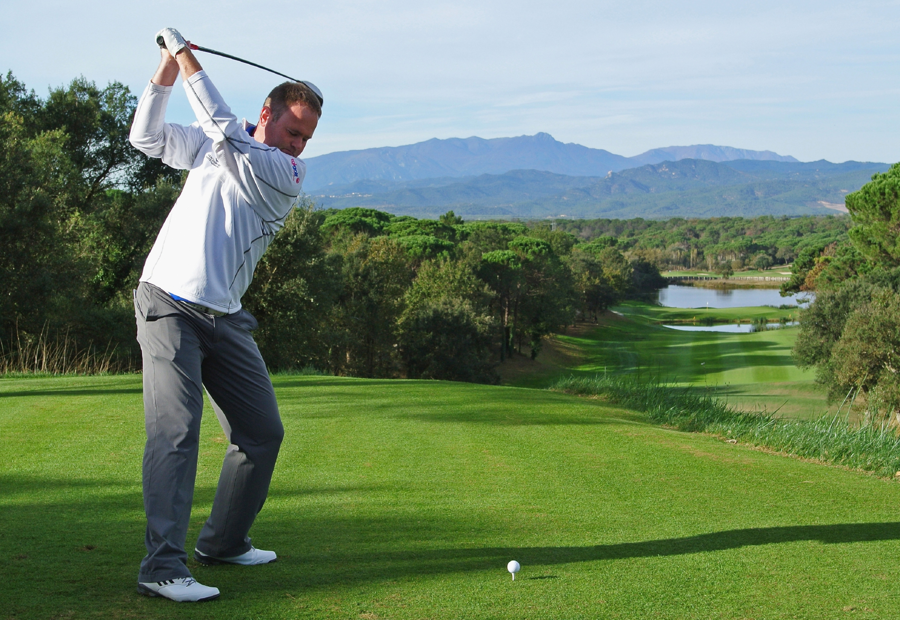 Alastair Forsyth: may yet have another crack at the European Tour, but content with his new career.