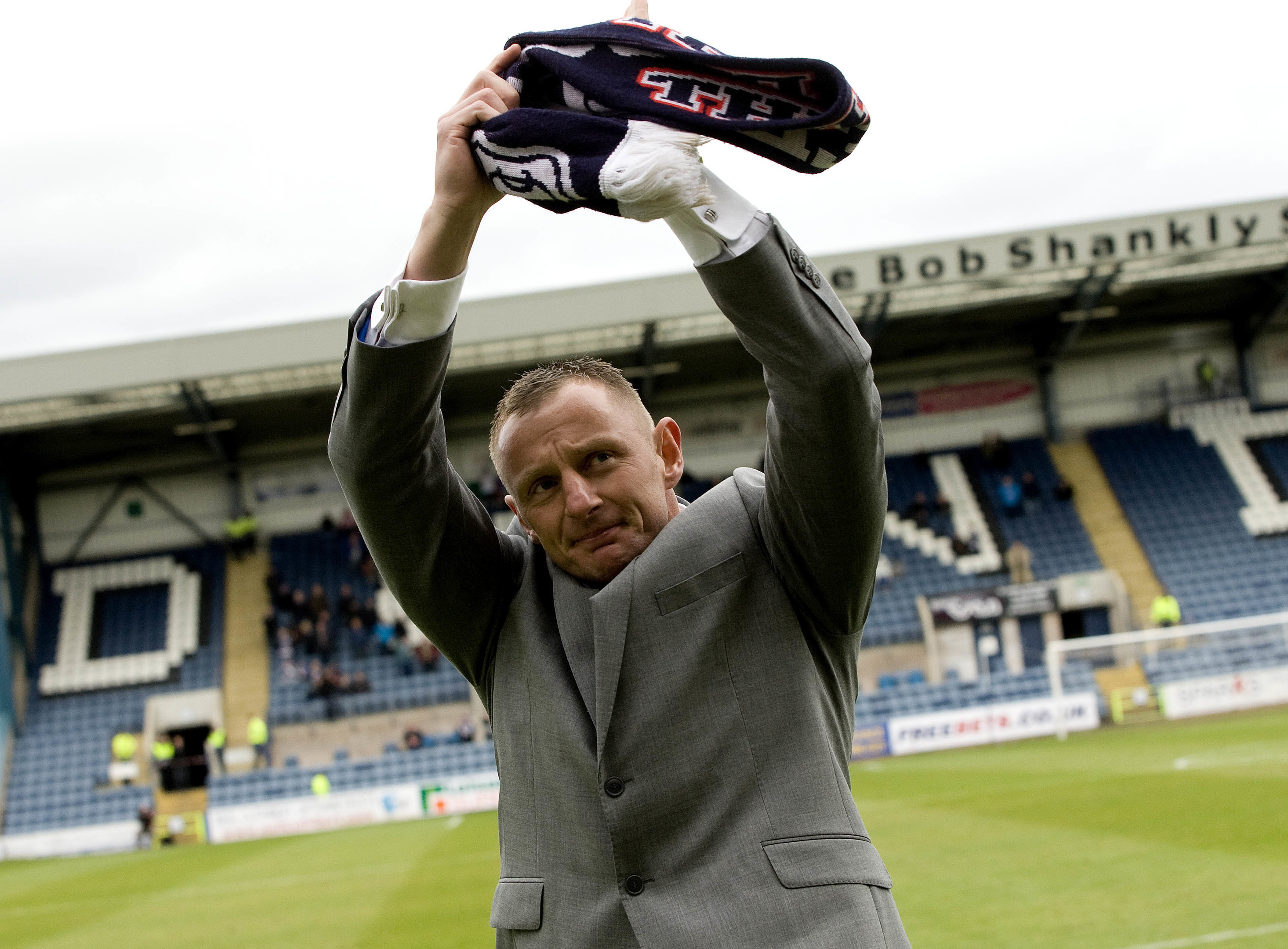 Rab Douglas is revered by the Dundee fans.