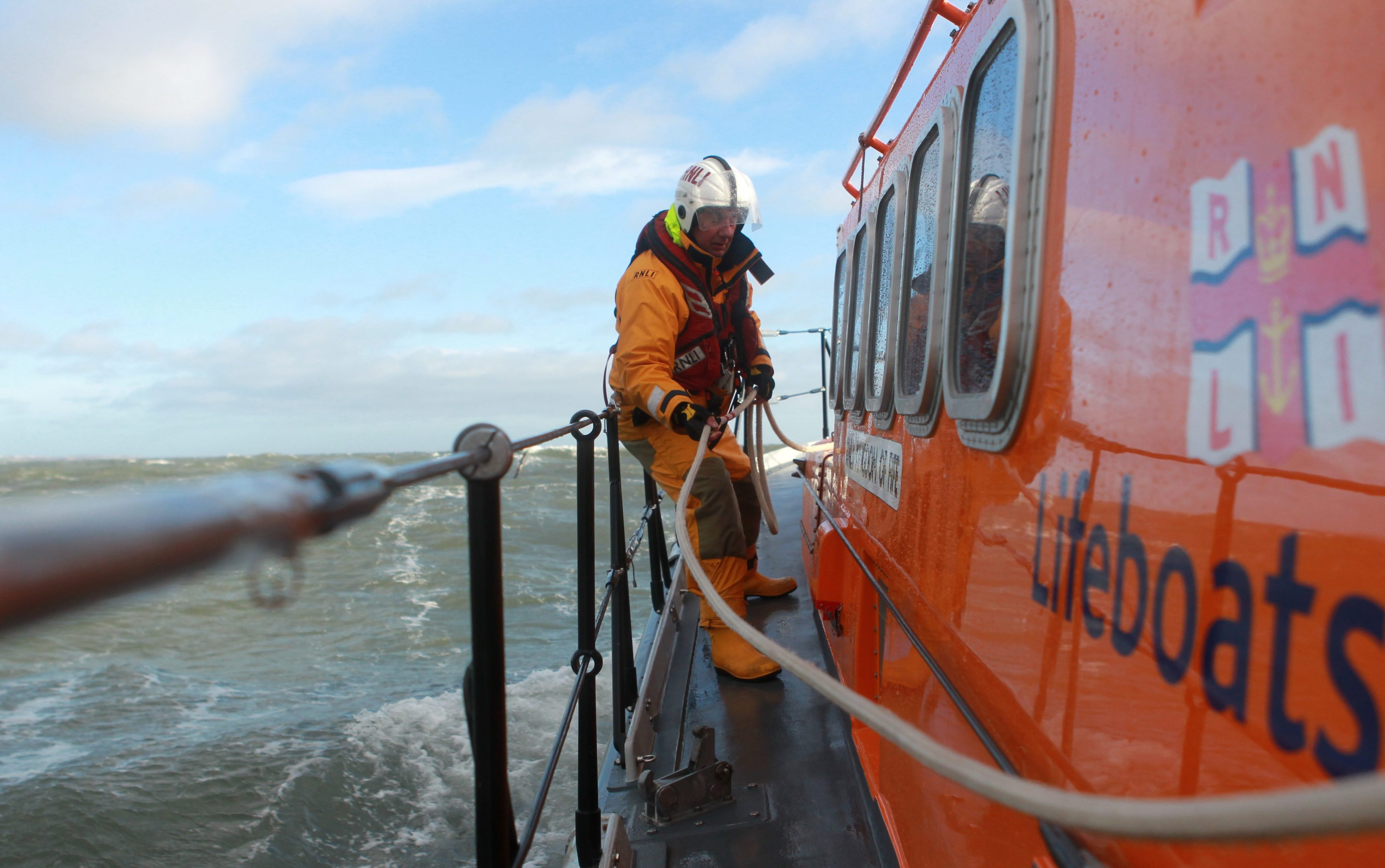 The Anstruther crew were called into action once more.