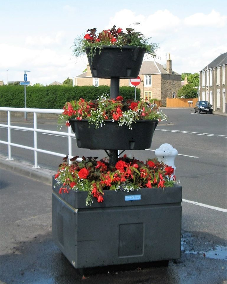 A Broughty Ferry in Bloom planter