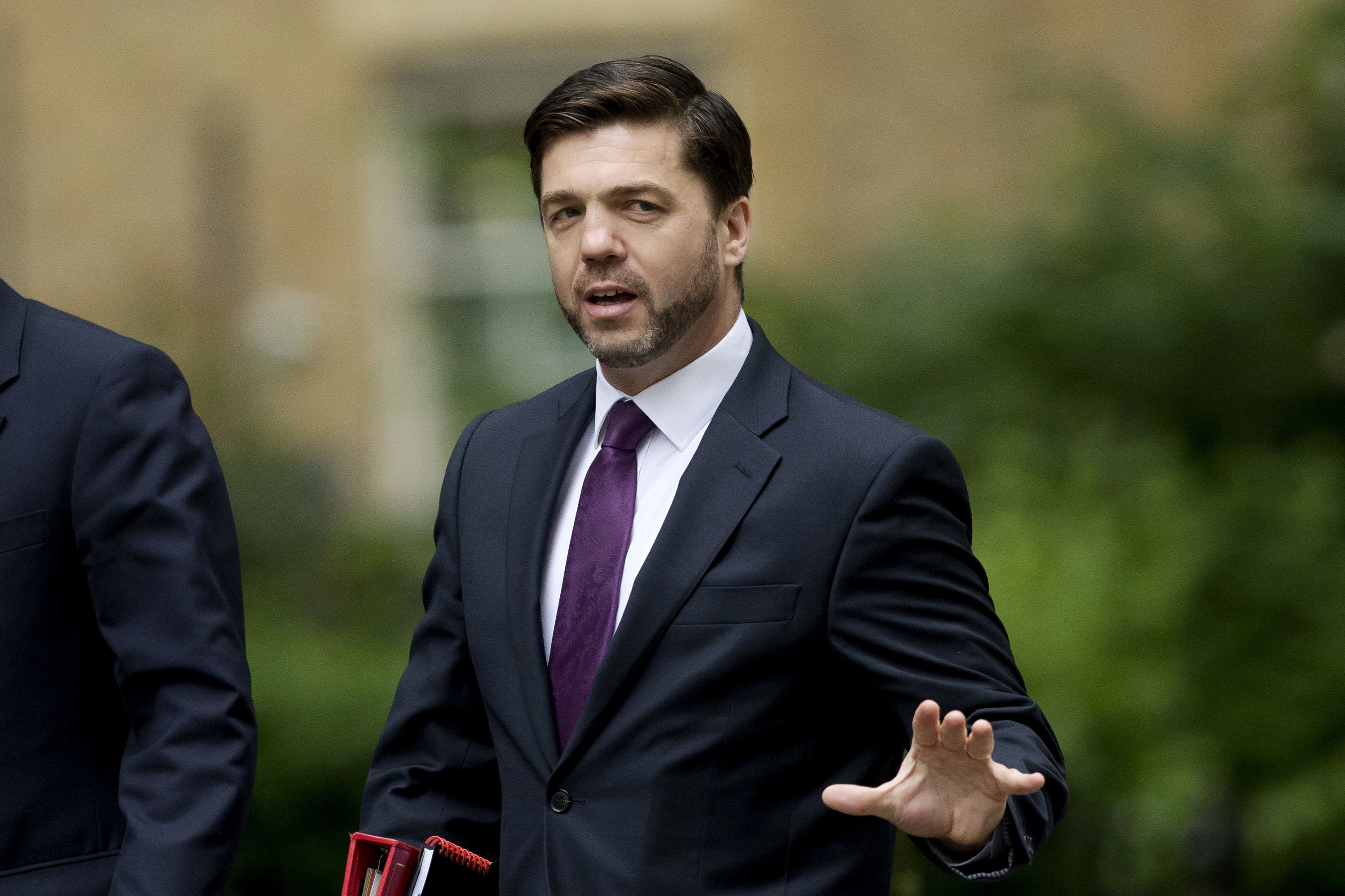 Conservative leadership contender Stephen Crabb.