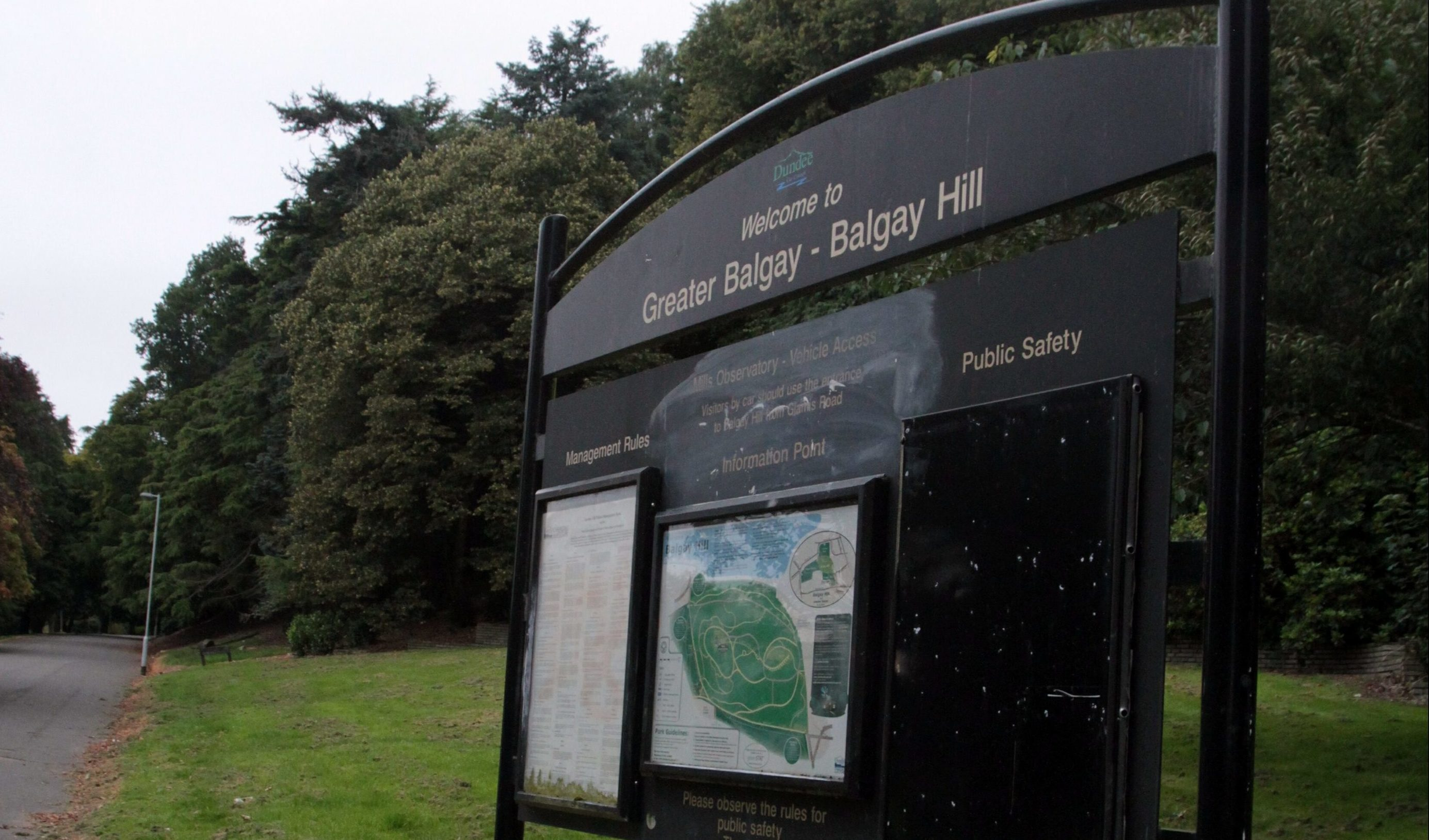 Balgay Park.
