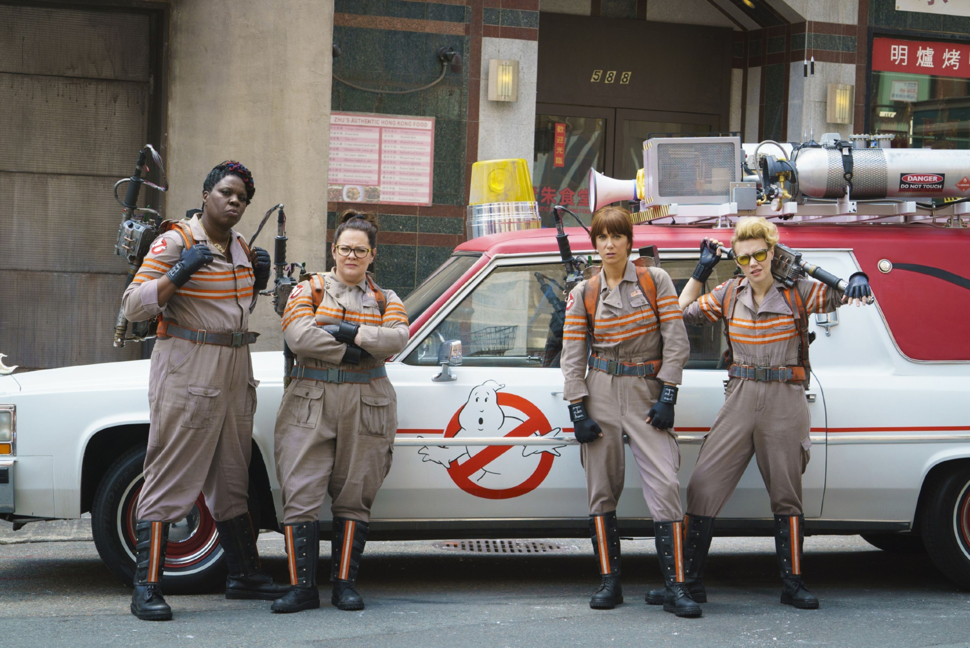 Coming to Fife? The Ghostbusters may be required in the Kingdom.