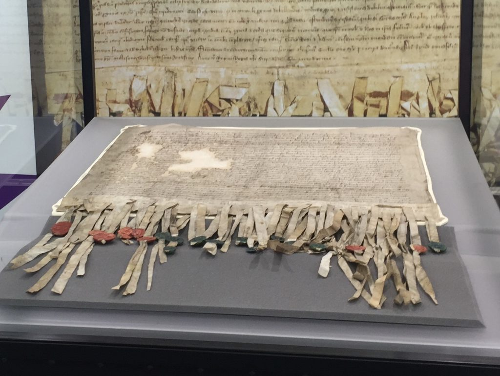 The Declaration of Arbroath is famed across the globe.