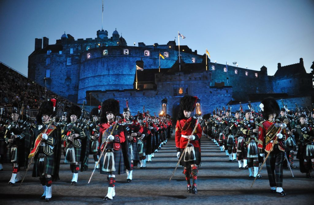 Elements will feature from the Royal Edinburgh Military Tattoo