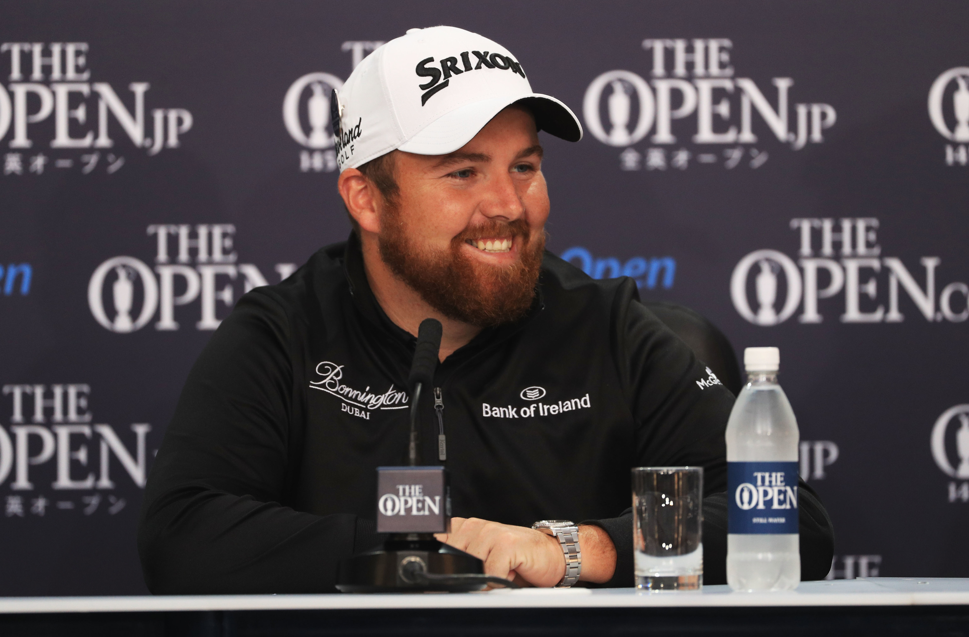 All smiles - Shane Lowry.
