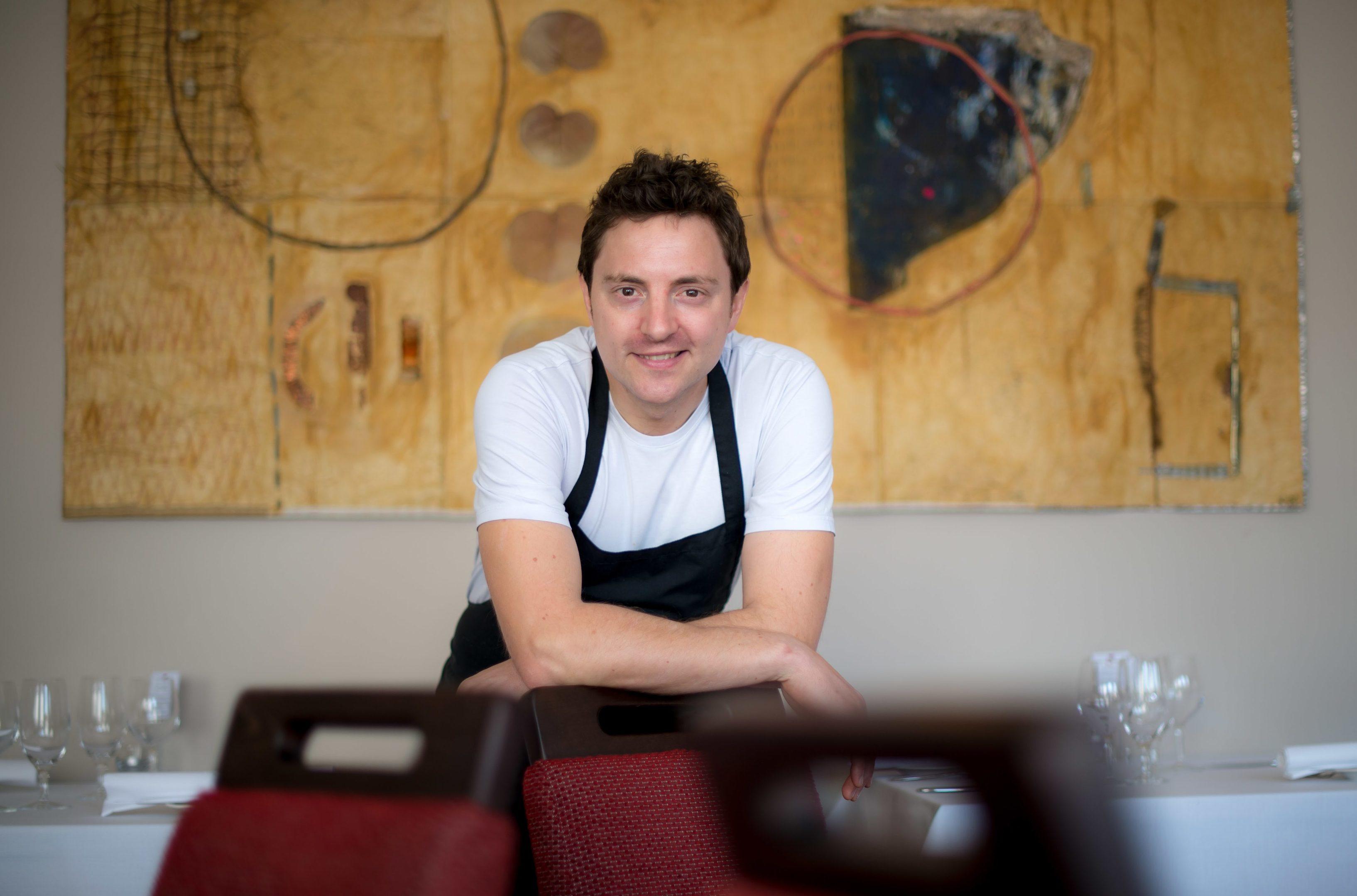 Chef Graeme Pallister of 63 Tay Street