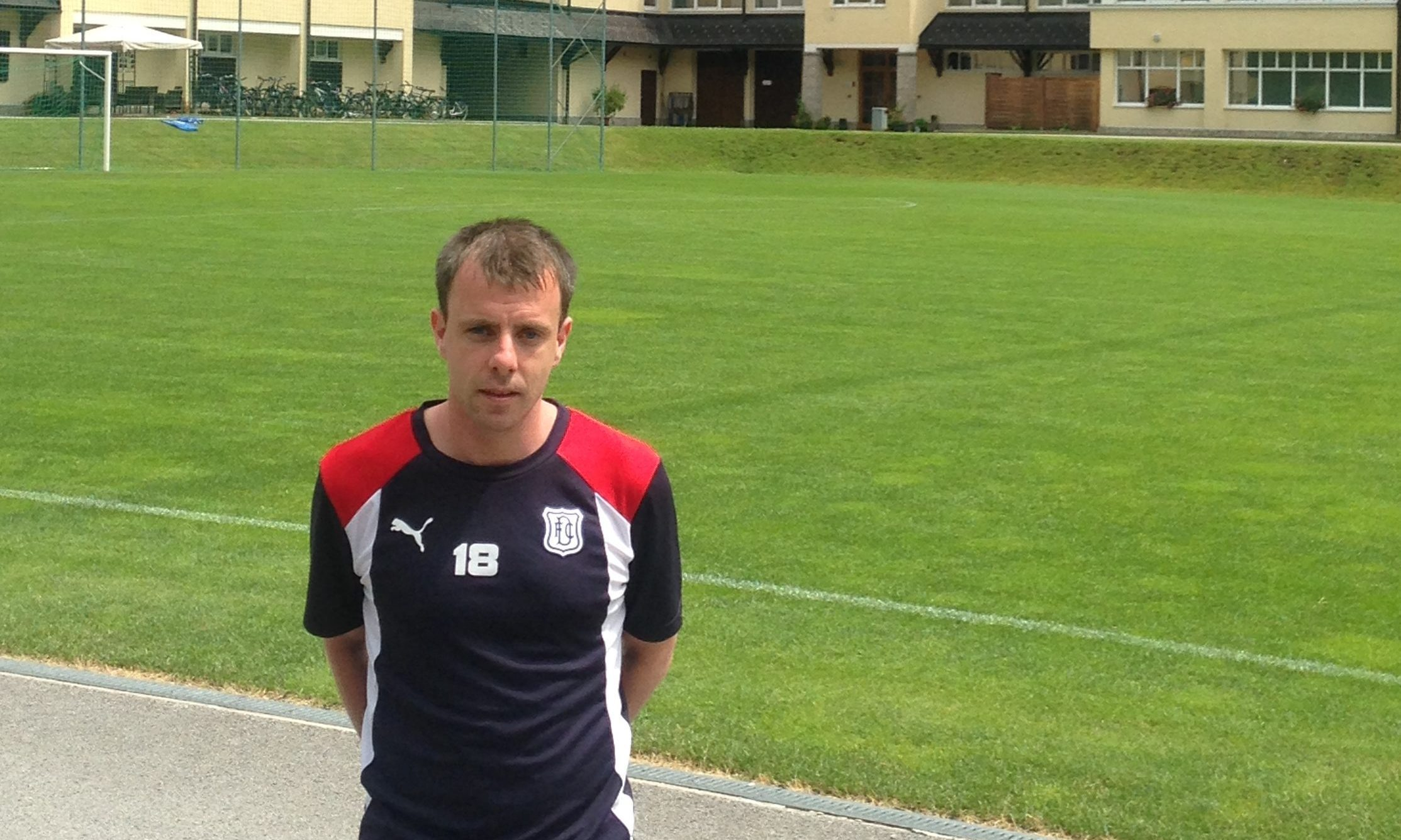 Paul McGowan, training with Dundee in Austria, is determined  to make the most of his second chance.
