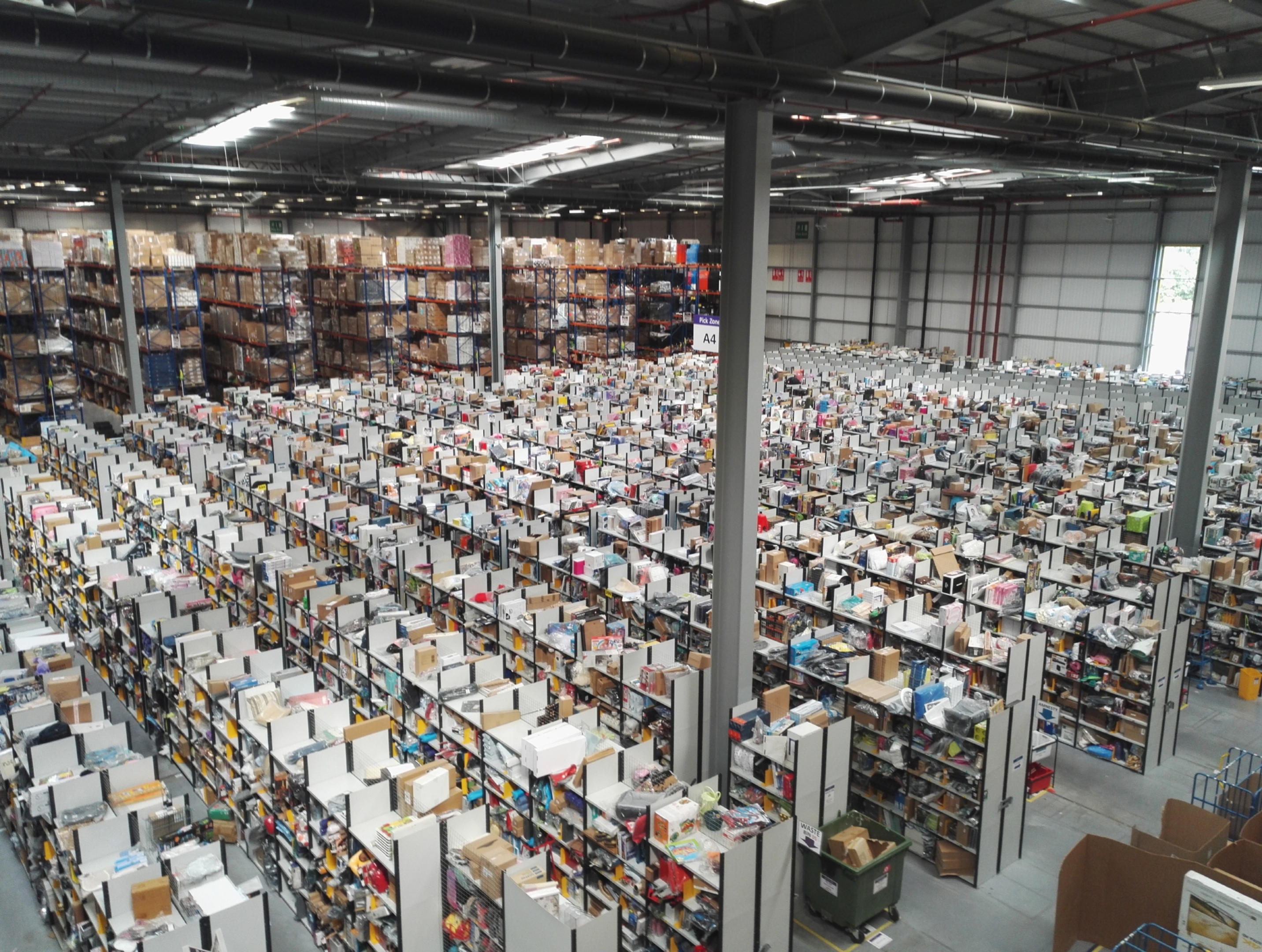 Amazon Fife's fulfilment centre near Dunfermline
