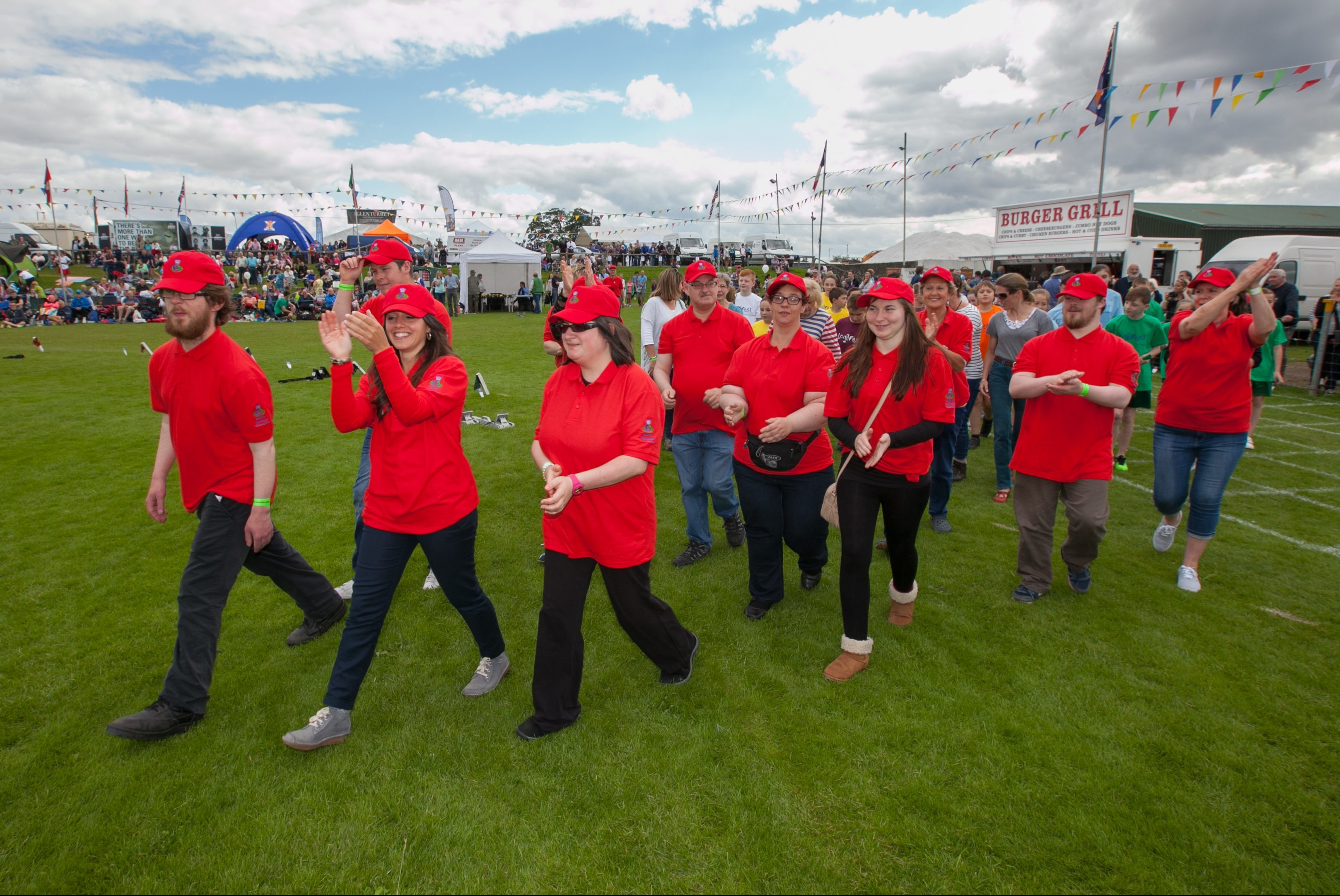 Gamesmakers at last year's Crieff Highland Gathering.