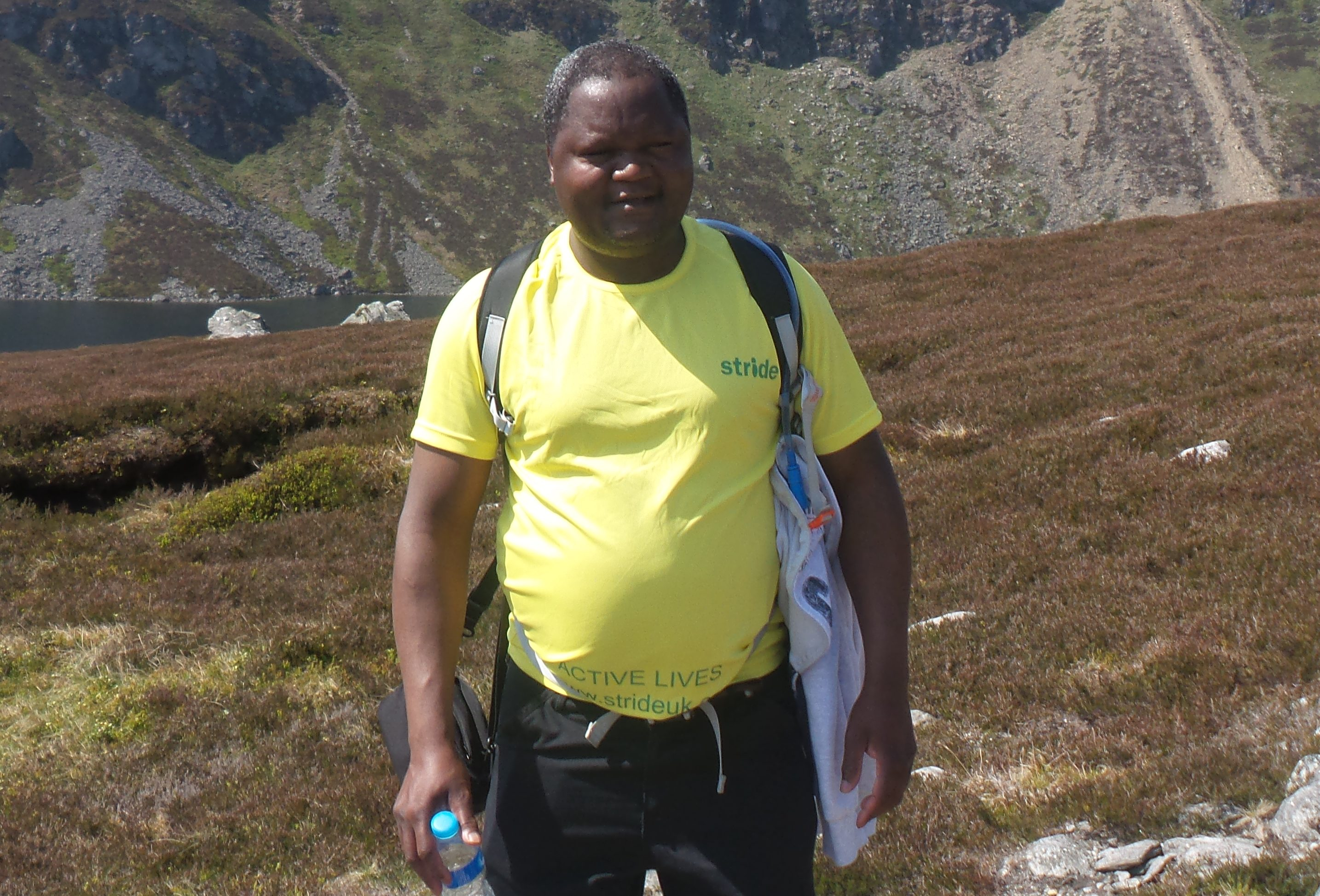 STRIDE secretary Joseph Lumbasi