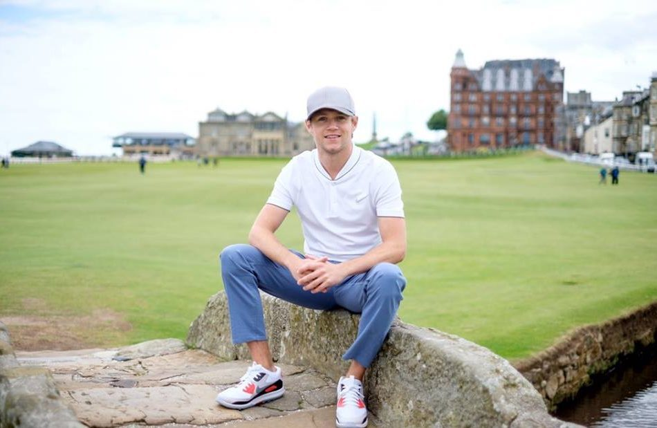 Spotted in St Andrews - 1D star Niall Horan.