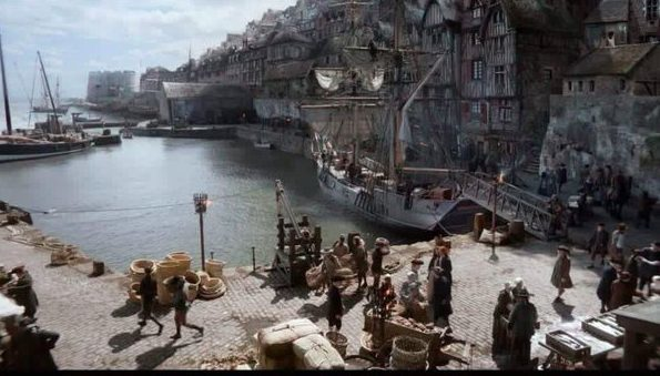 Dysart Harbour was one of the local locations featured in Outlander.