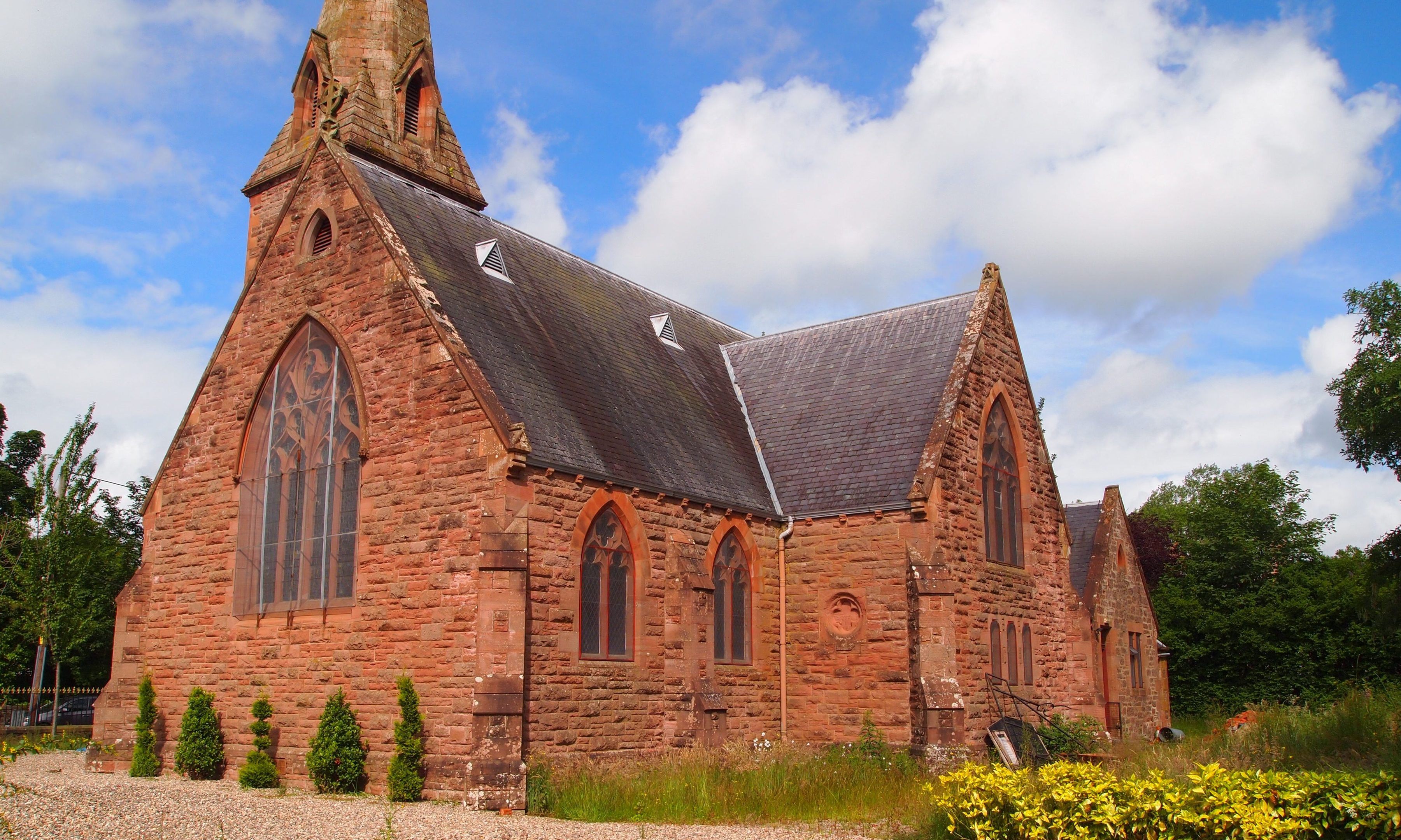 The Riverside Methodist Church at Rattray.