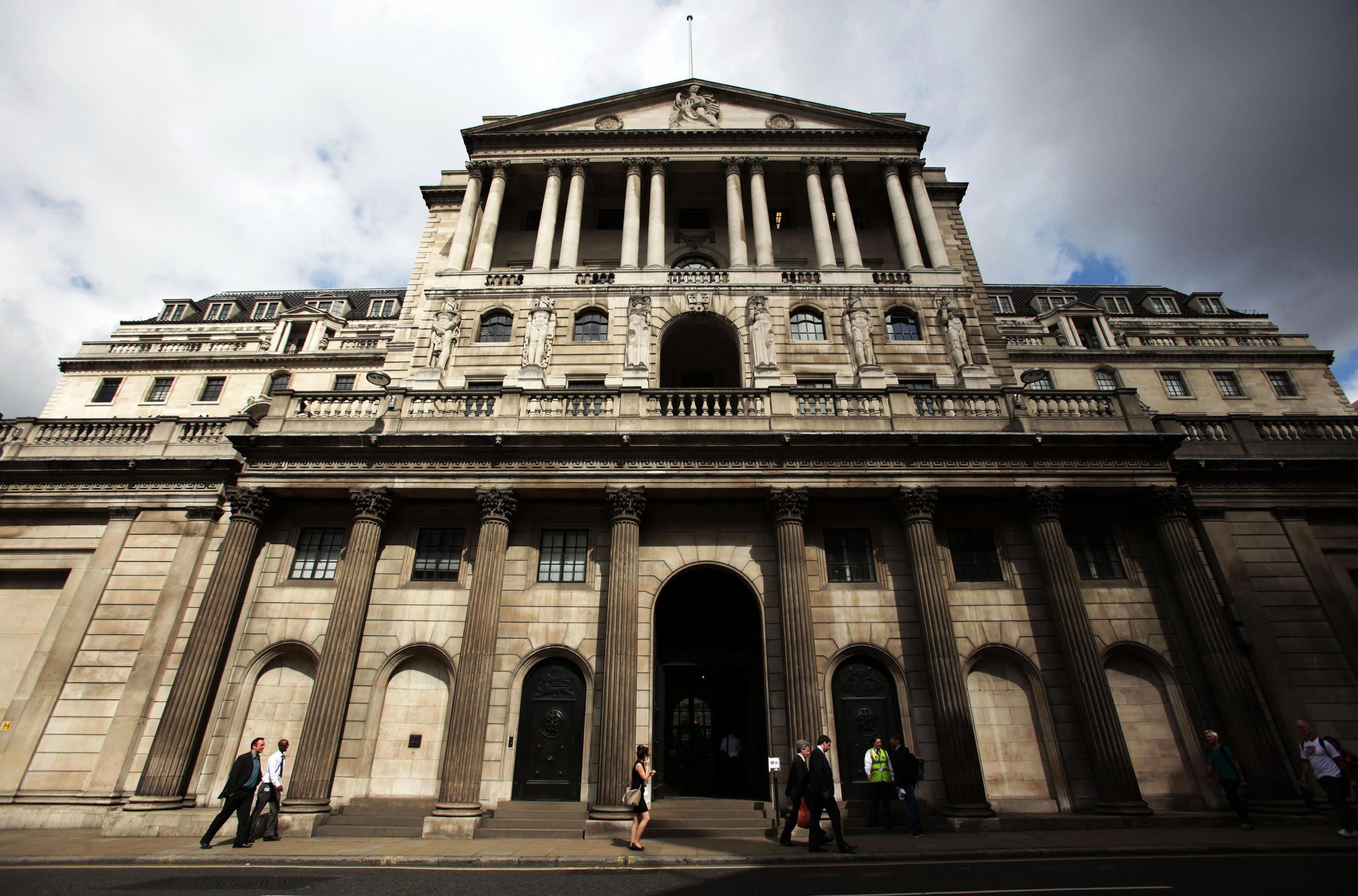 The Bank of England .