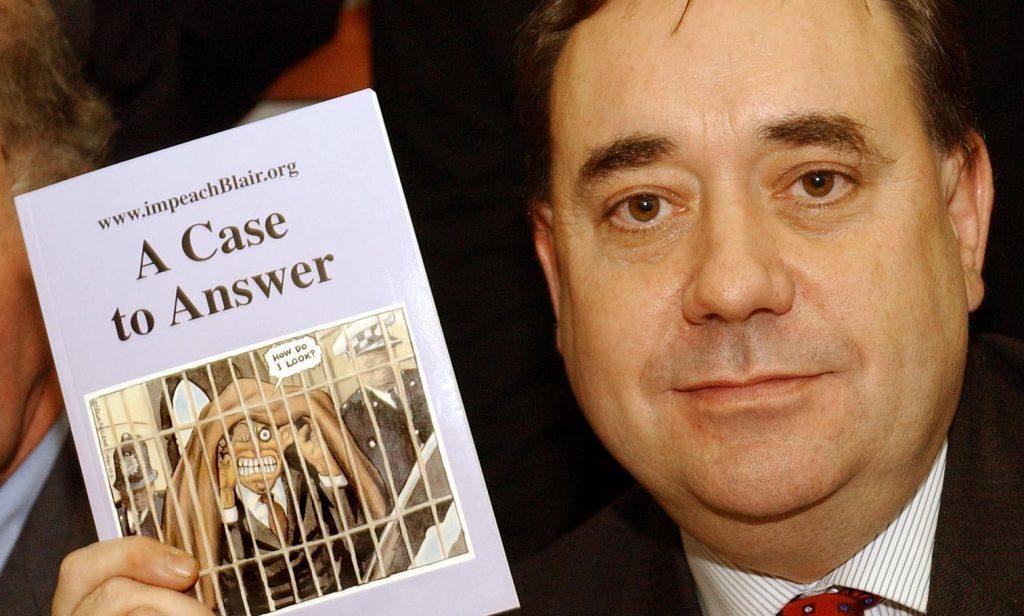 Alex Salmond calling for Tony Blair's impeachment as long ago as 2004.