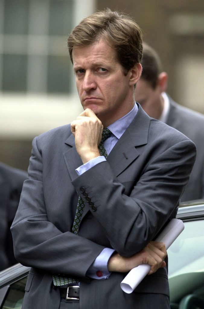 Alastair Campbell, former director of communications and strategy for Tony Blair.