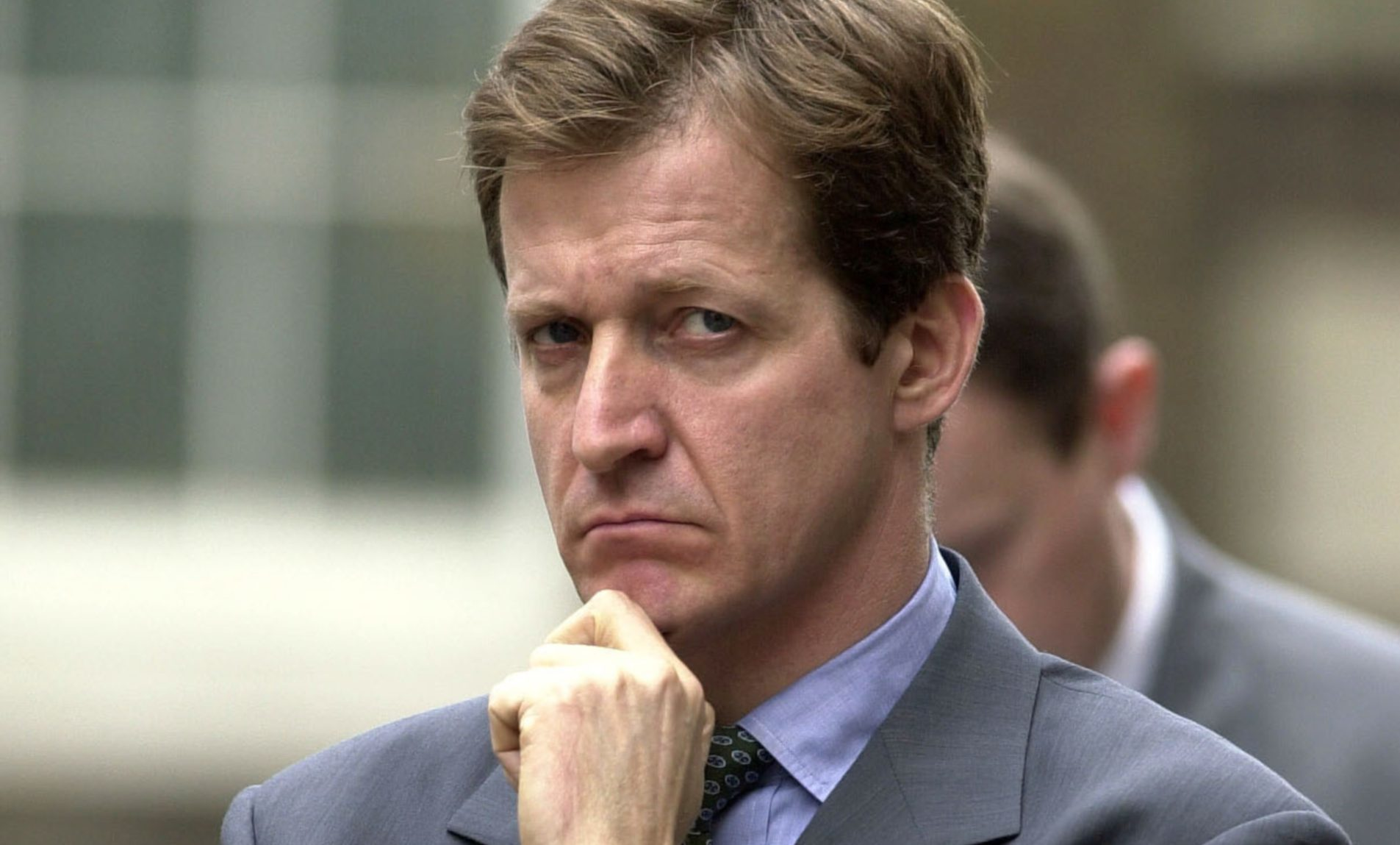 Alastair Campbell, during his time as director of communications and strategy for Tony Blair.