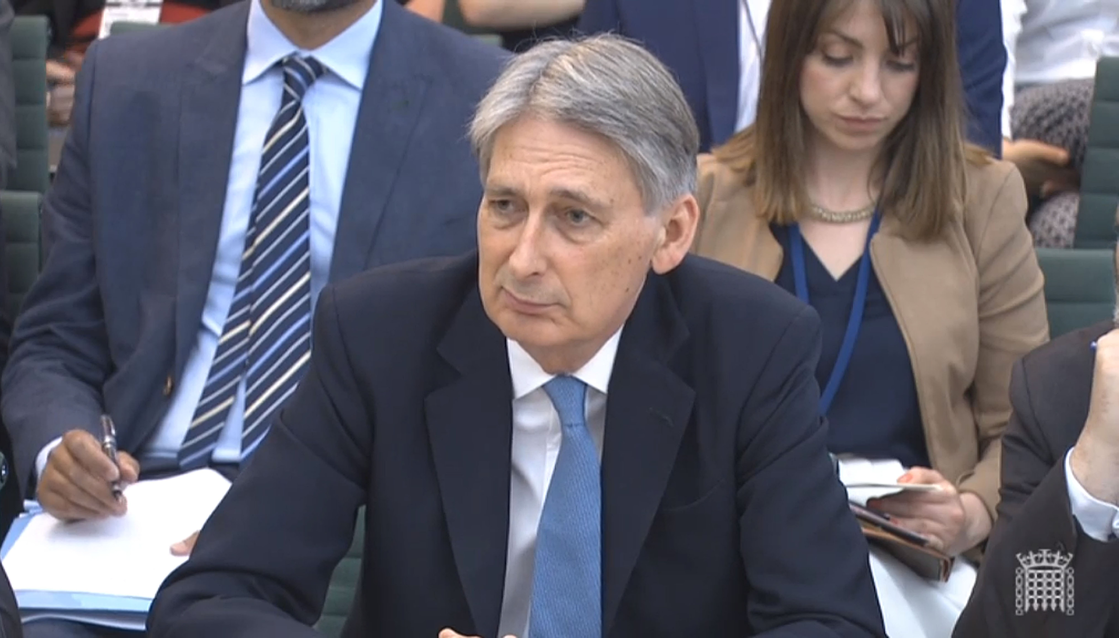 Foreign Secretary Philip Hammond gives evidence to the Foreign Affairs Committee.
