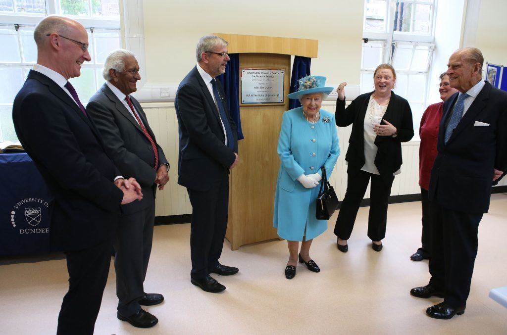 The centre is officially opened.