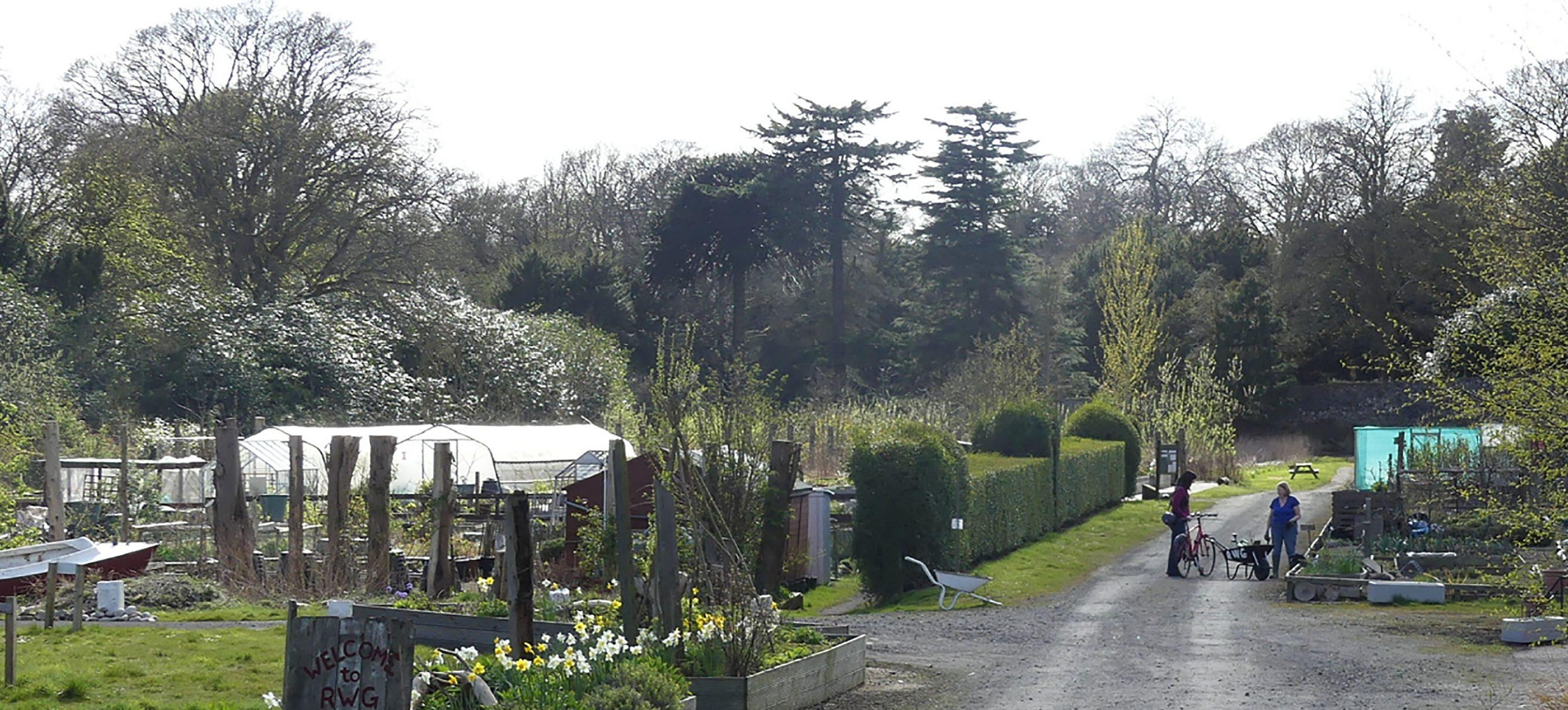 The Ravenscraig walled garden