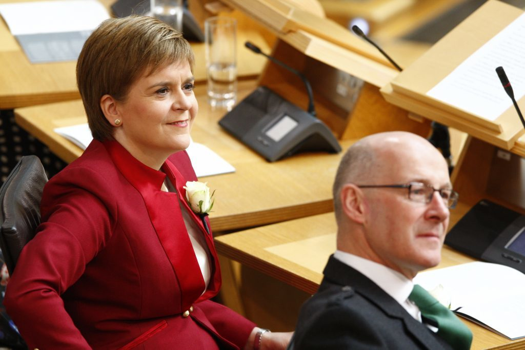 """First Minister Nicola Sturgeon has accused the UK government of """"playing games"""" over Trident."""