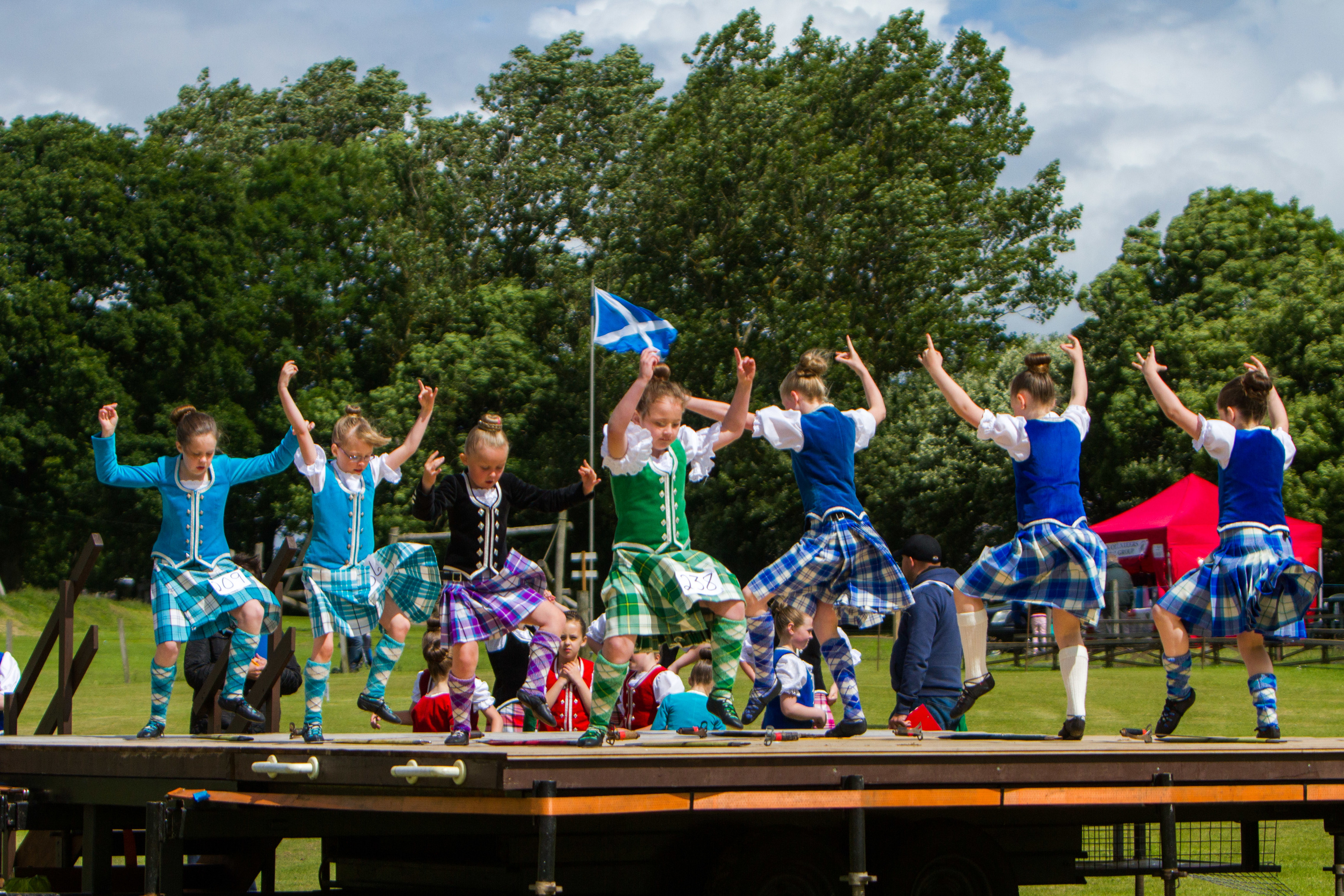 Thornton Highland Games in previous years.