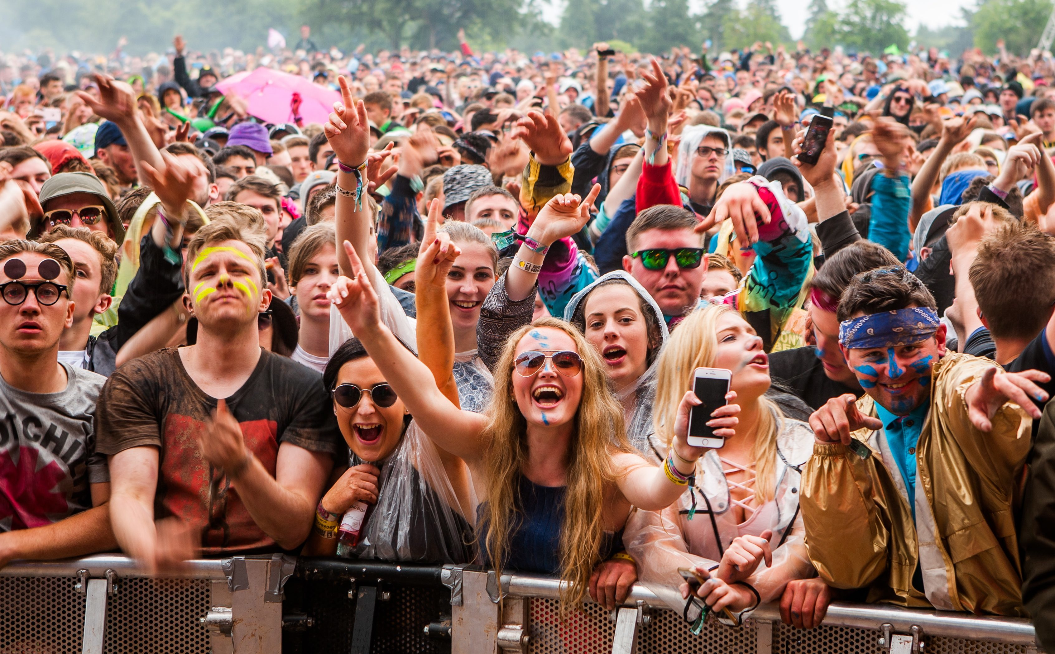 Despite the weather, T in the Park still drew in the crowds.