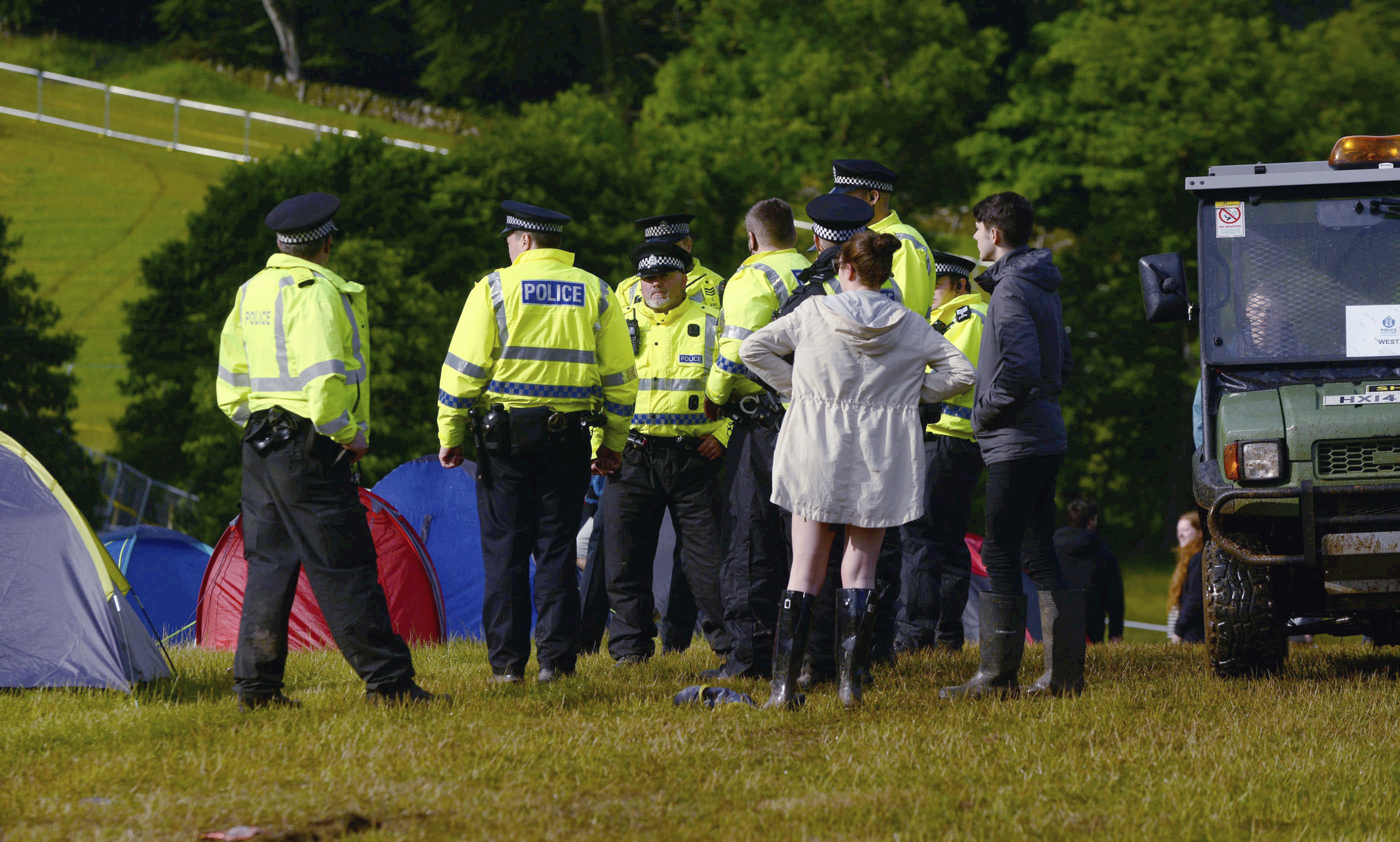 Police investigating two deaths at T in the Park.