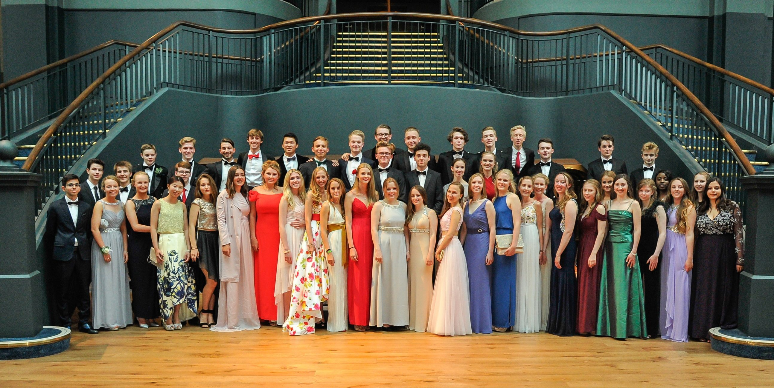 St Leonards School leavers' prom
