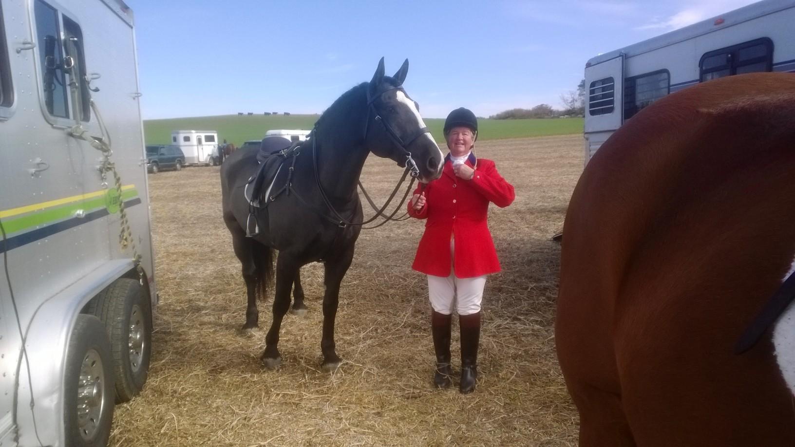 Susan was a keen horsewoman.