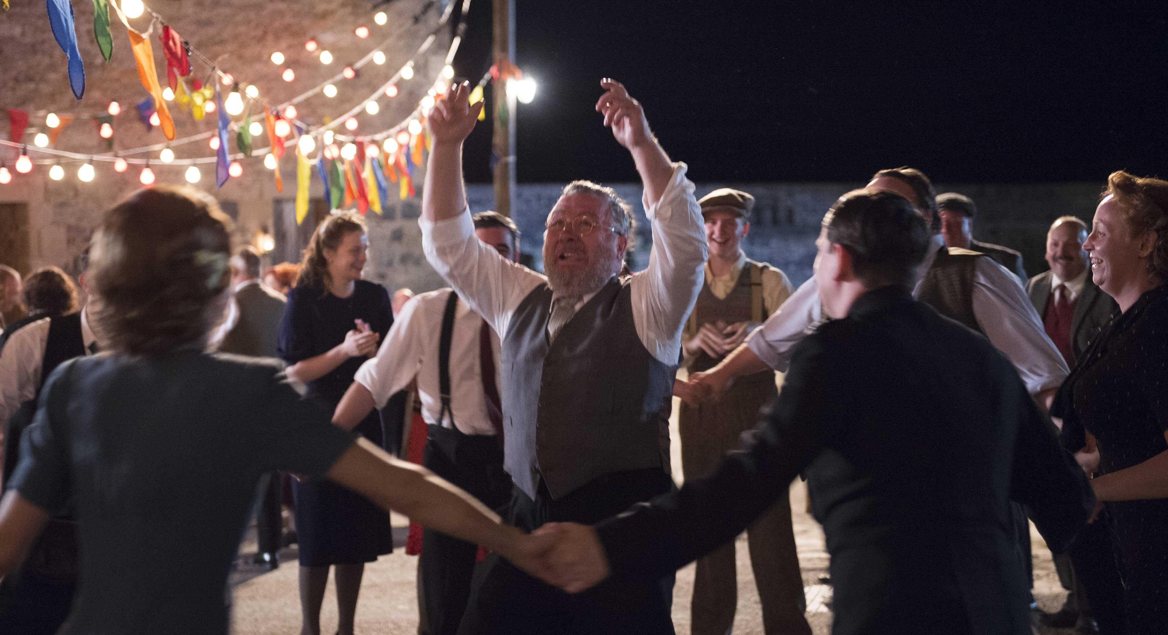 The wedding scene from Whisky Galore!
