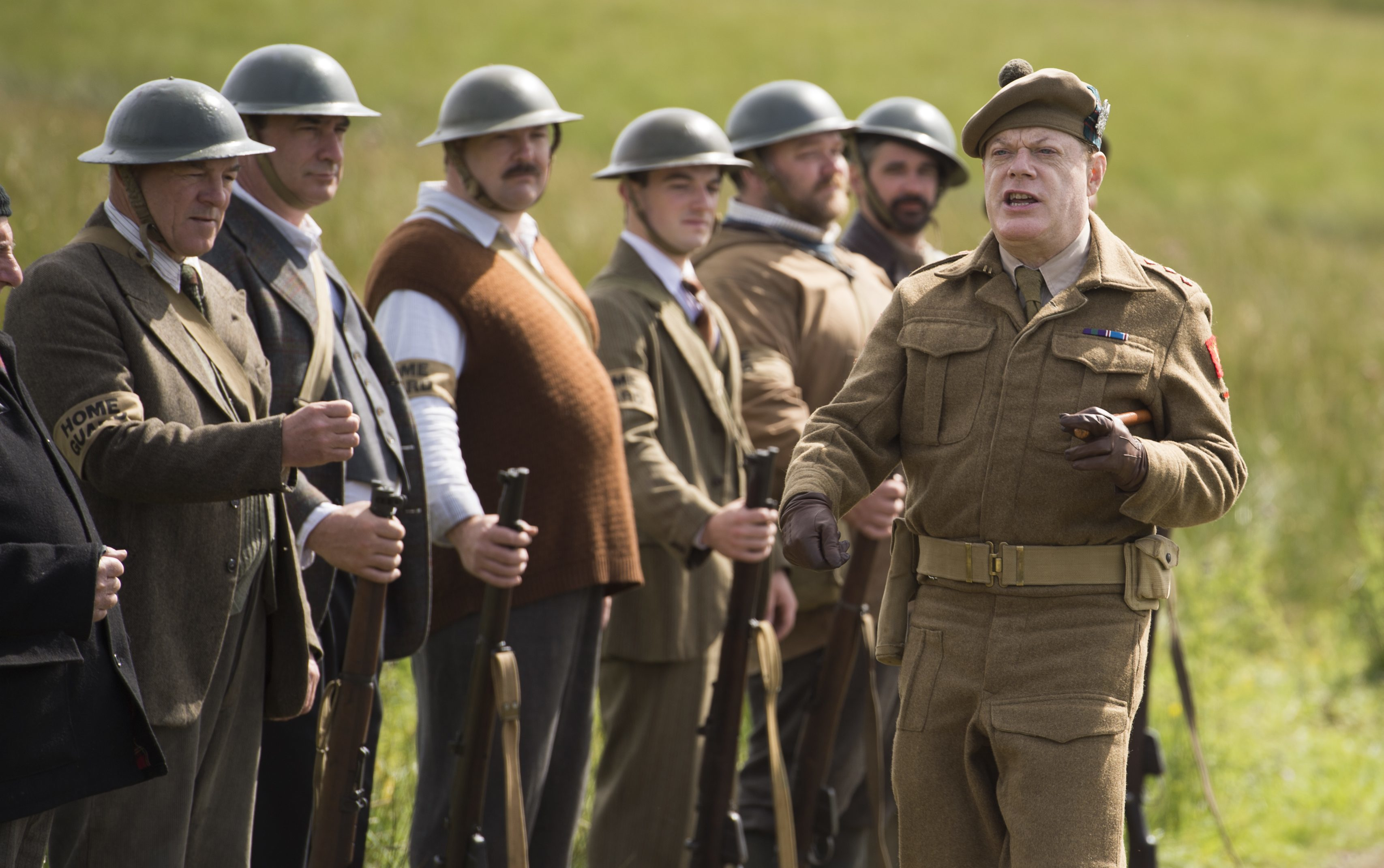 Eddie Izzard dons another beret in a recent remake of Whiskey Galore