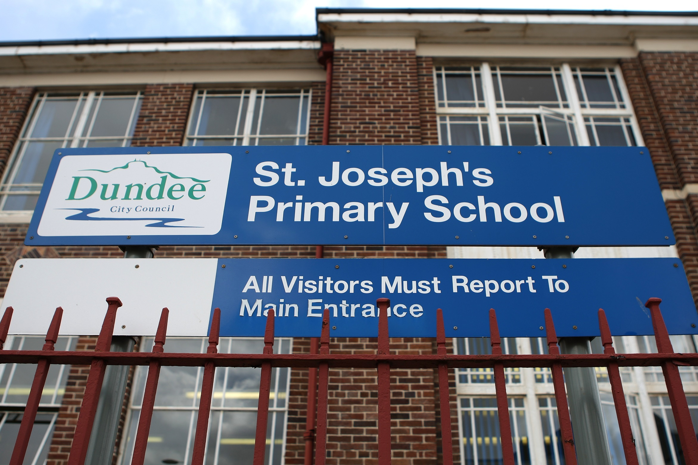 The former St Joseph's Primary School on Bellfield Road.
