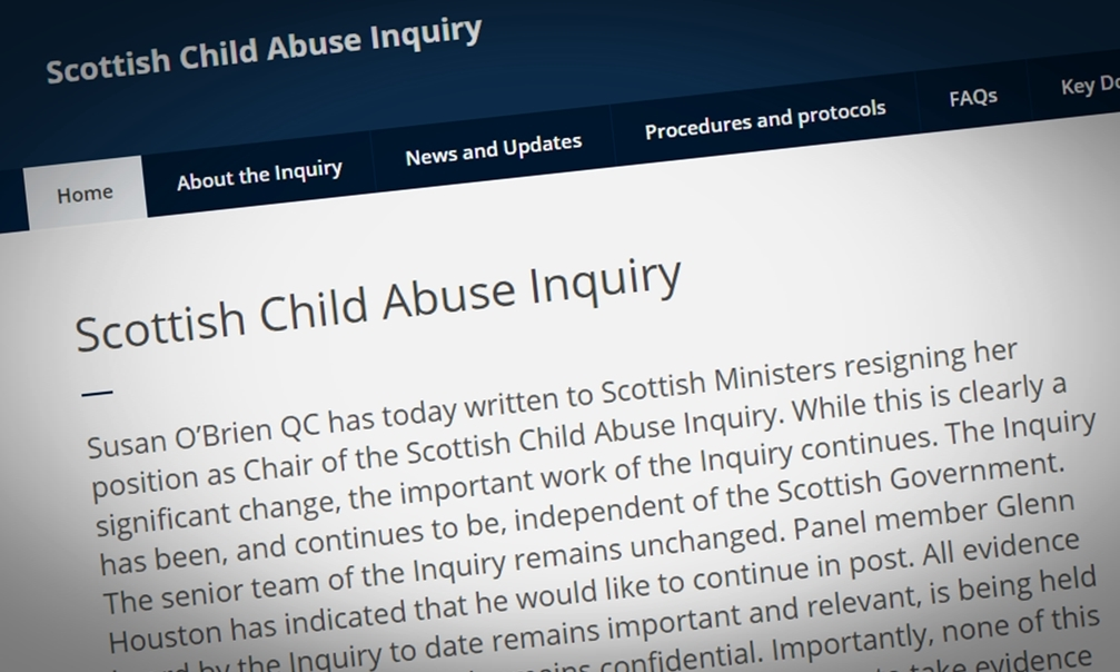 A statement on the inquiry website.