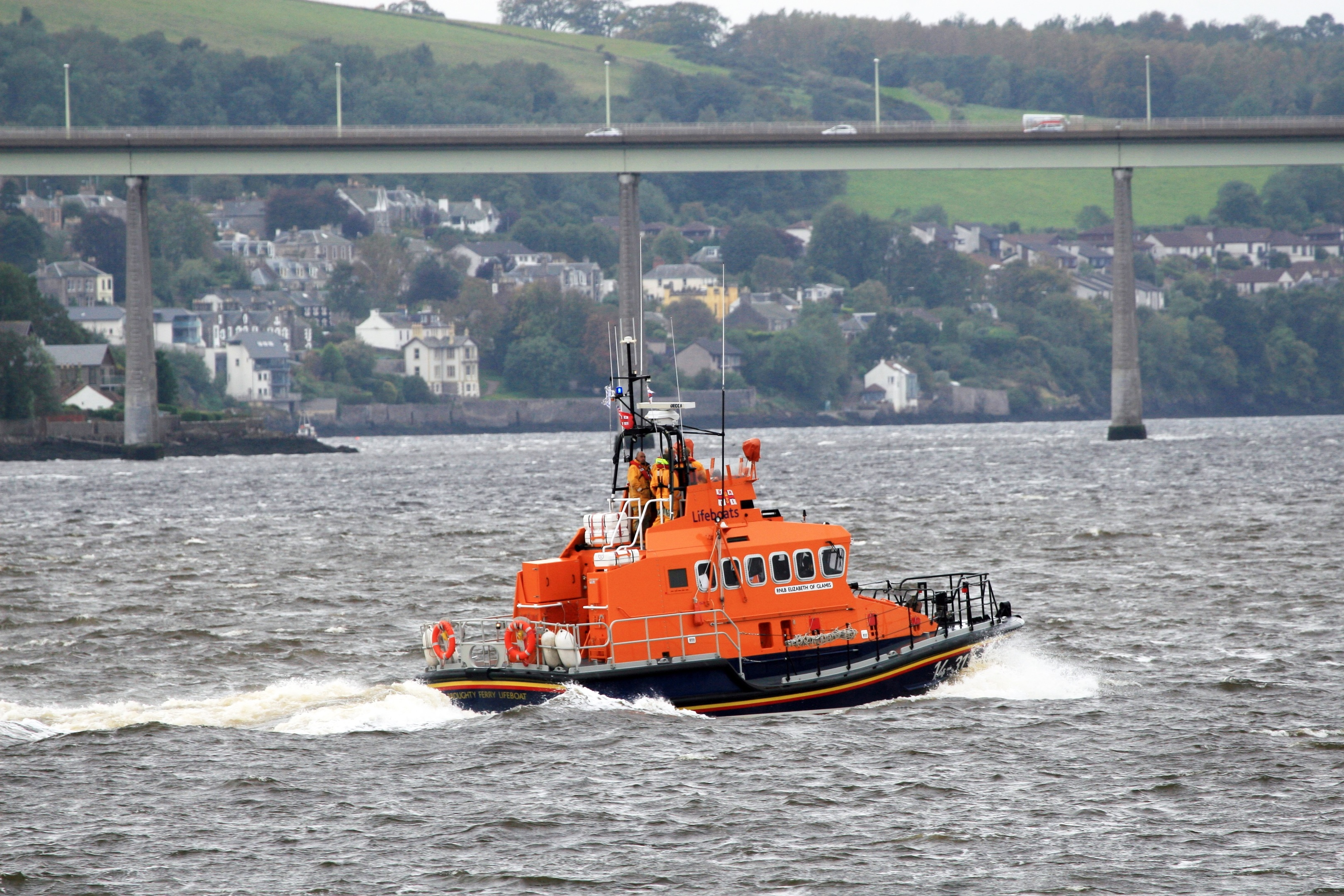 The Broughty Lifeboat Elizabeth of Glamis.