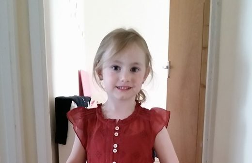 Mia Nogly, who was allegedly taken to Poland without her mother's consent
