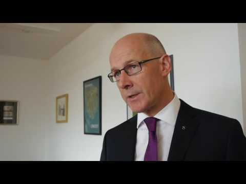 John Swinney, who was in charge of guiding the named person legislation through Holyrood as Education Secretary.