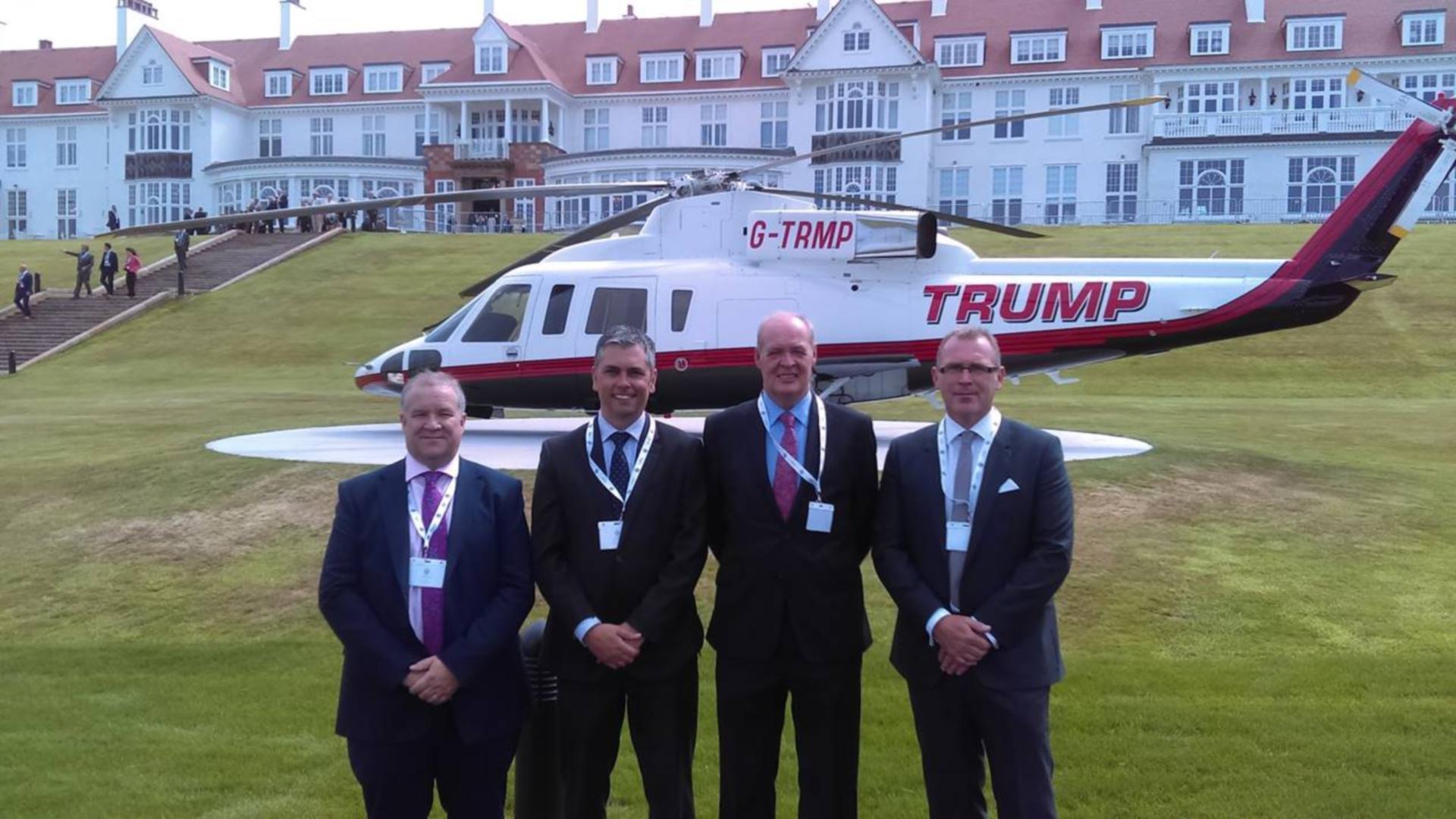 Hardies' Trump Turnberry team of Martin Cabe, Danny McArthur, Derek Ferrier and Craig Smart.