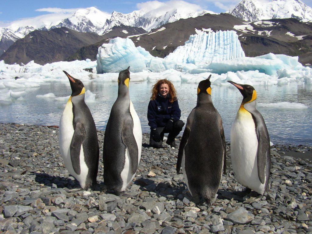 Vanessa Collingridge in Antarctica